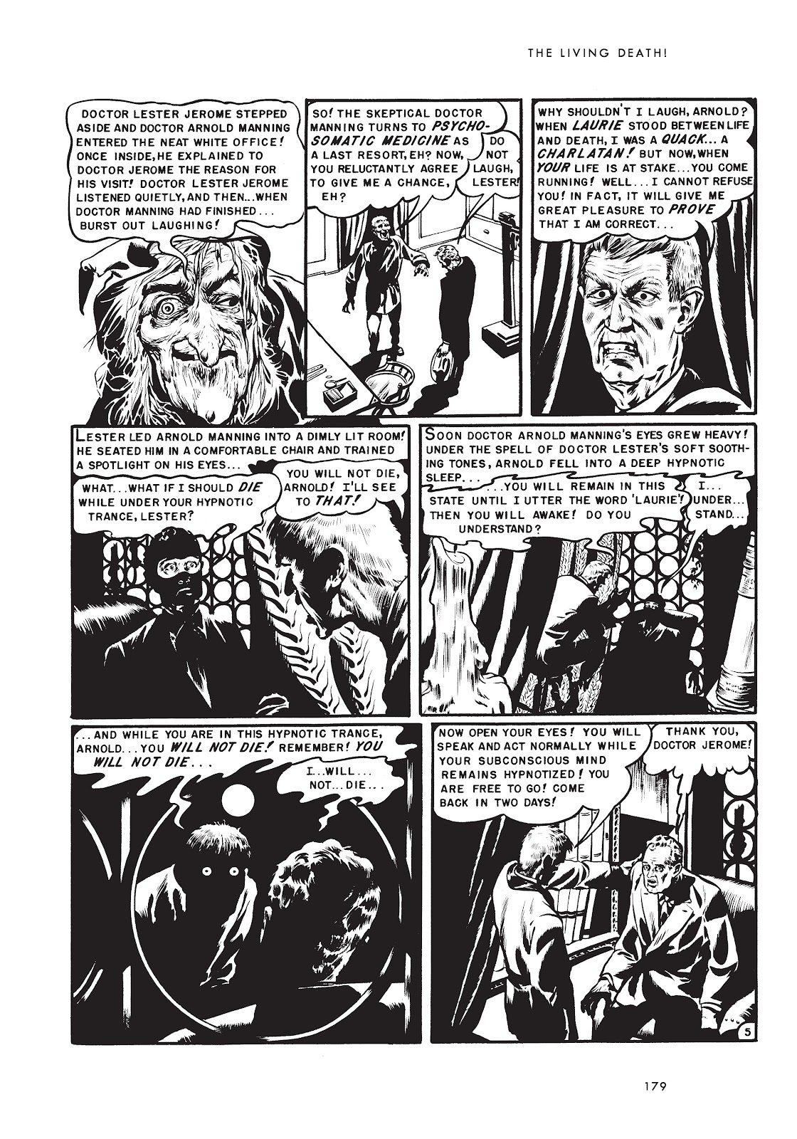 Read online Doctor of Horror and Other Stories comic -  Issue # TPB (Part 2) - 95