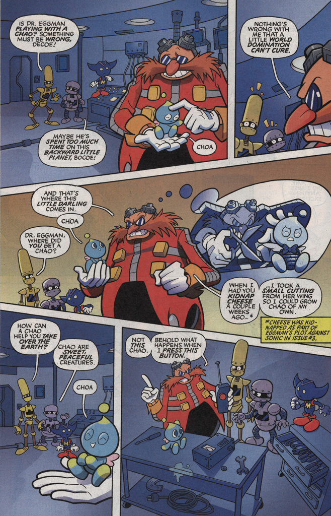 Read online Sonic X comic -  Issue #5 - 16