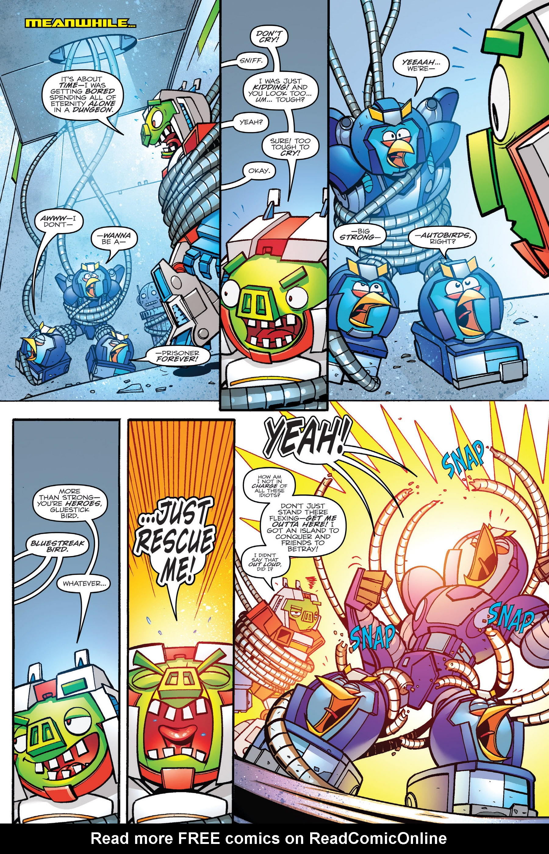 Read online Angry Birds Transformers: Age of Eggstinction comic -  Issue # Full - 59