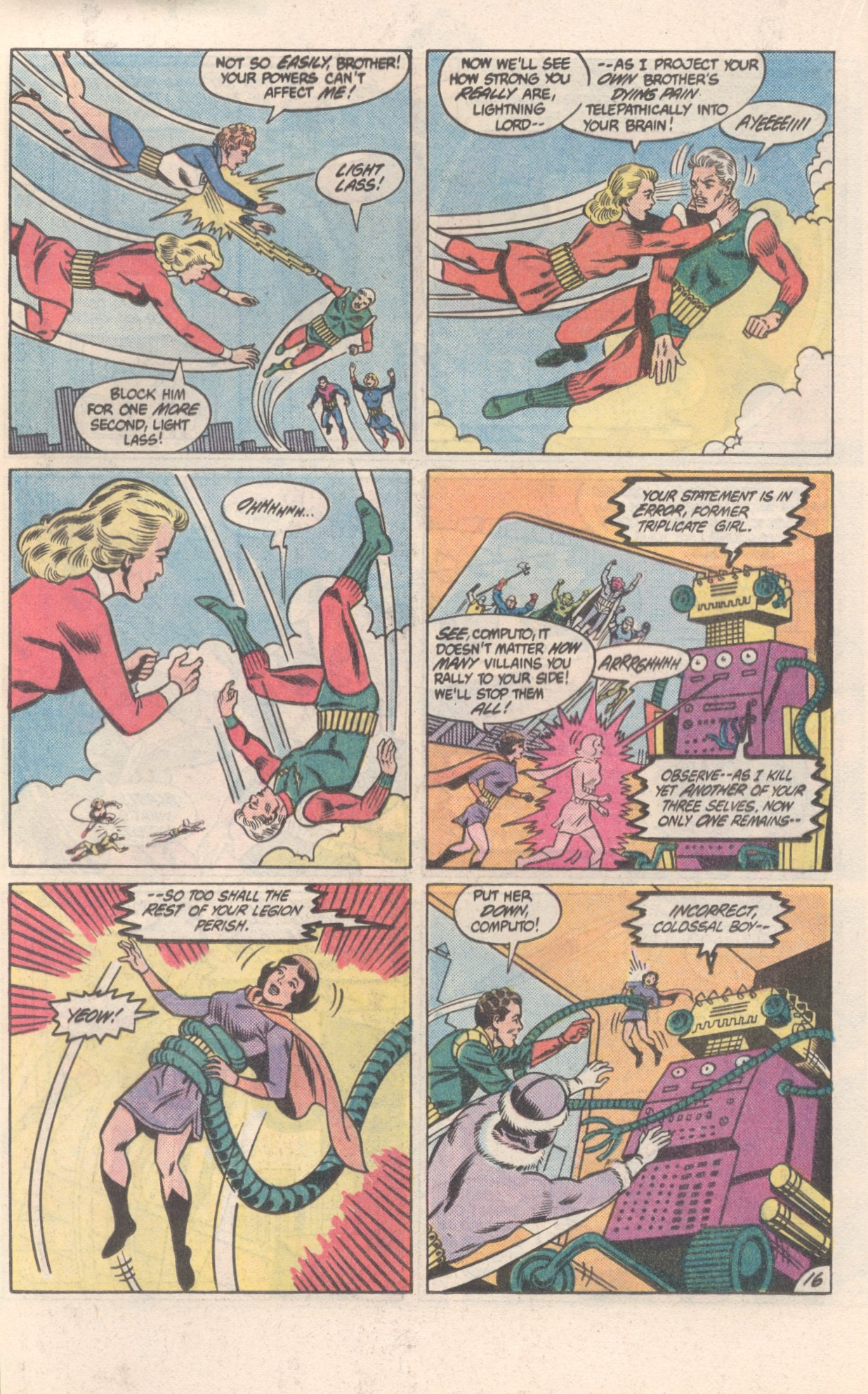 Legion of Super-Heroes (1980) 300 Page 16