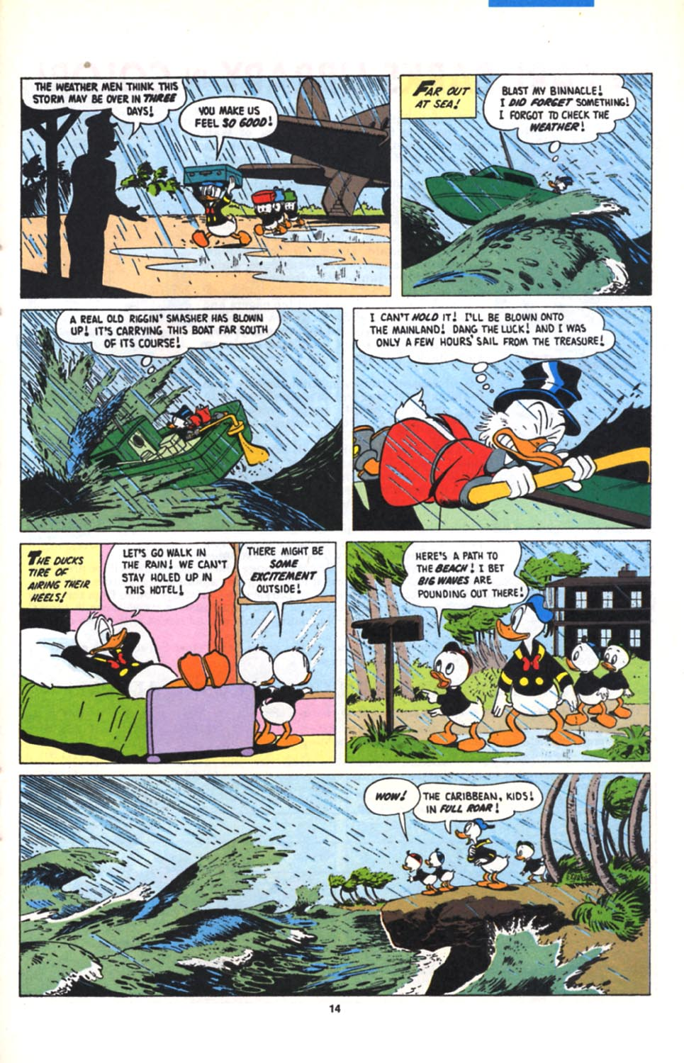 Read online Uncle Scrooge (1953) comic -  Issue #279 - 15