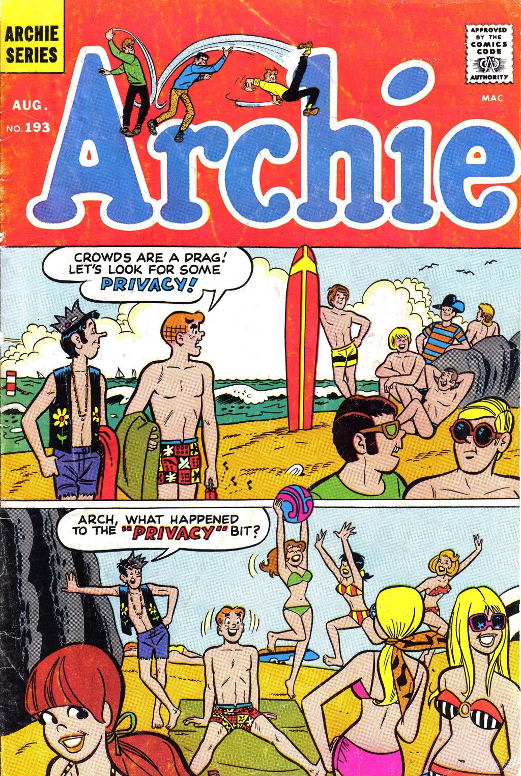Read online Archie (1960) comic -  Issue #193 - 1