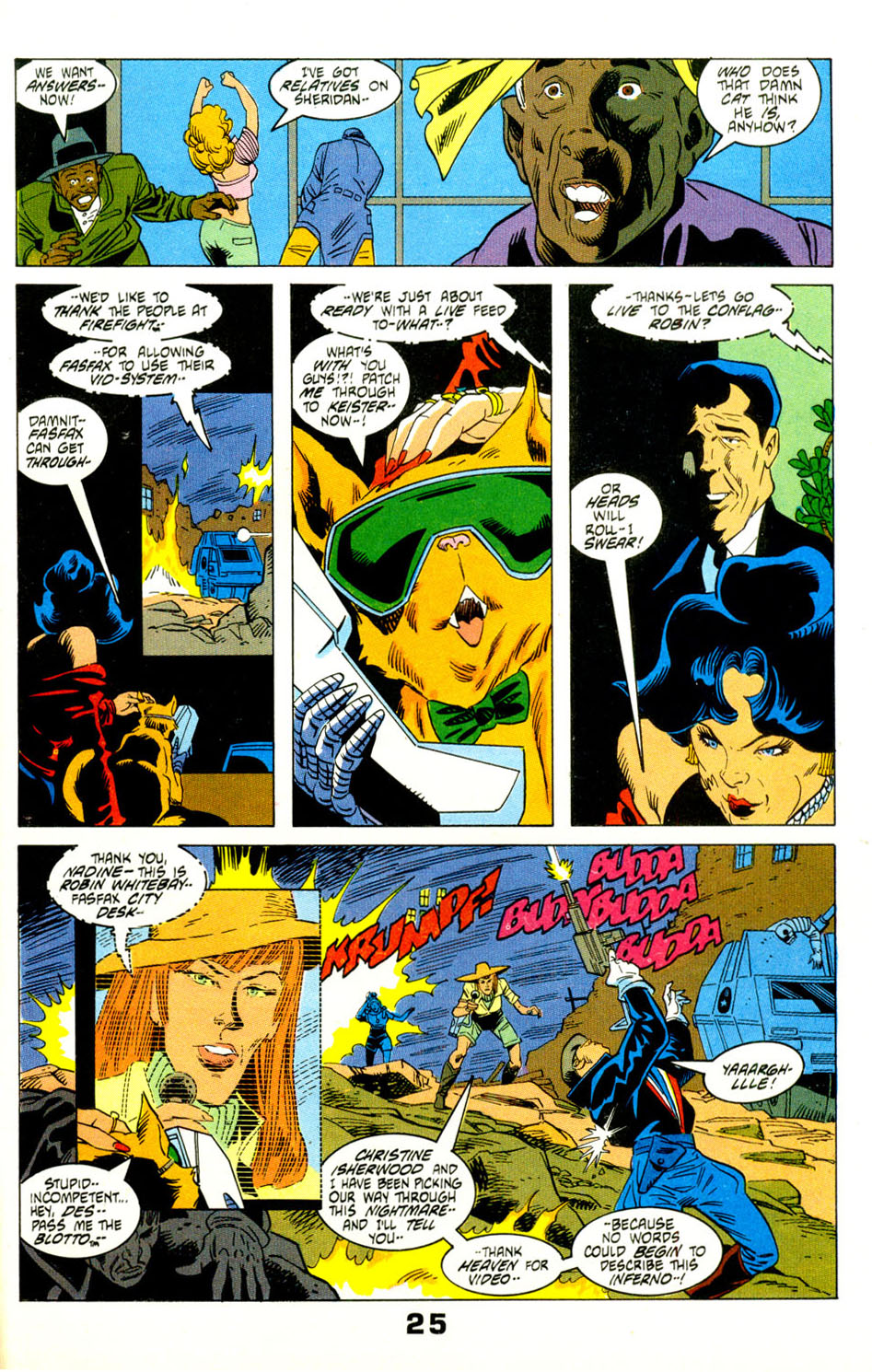 Read online American Flagg! comic -  Issue #29 - 28