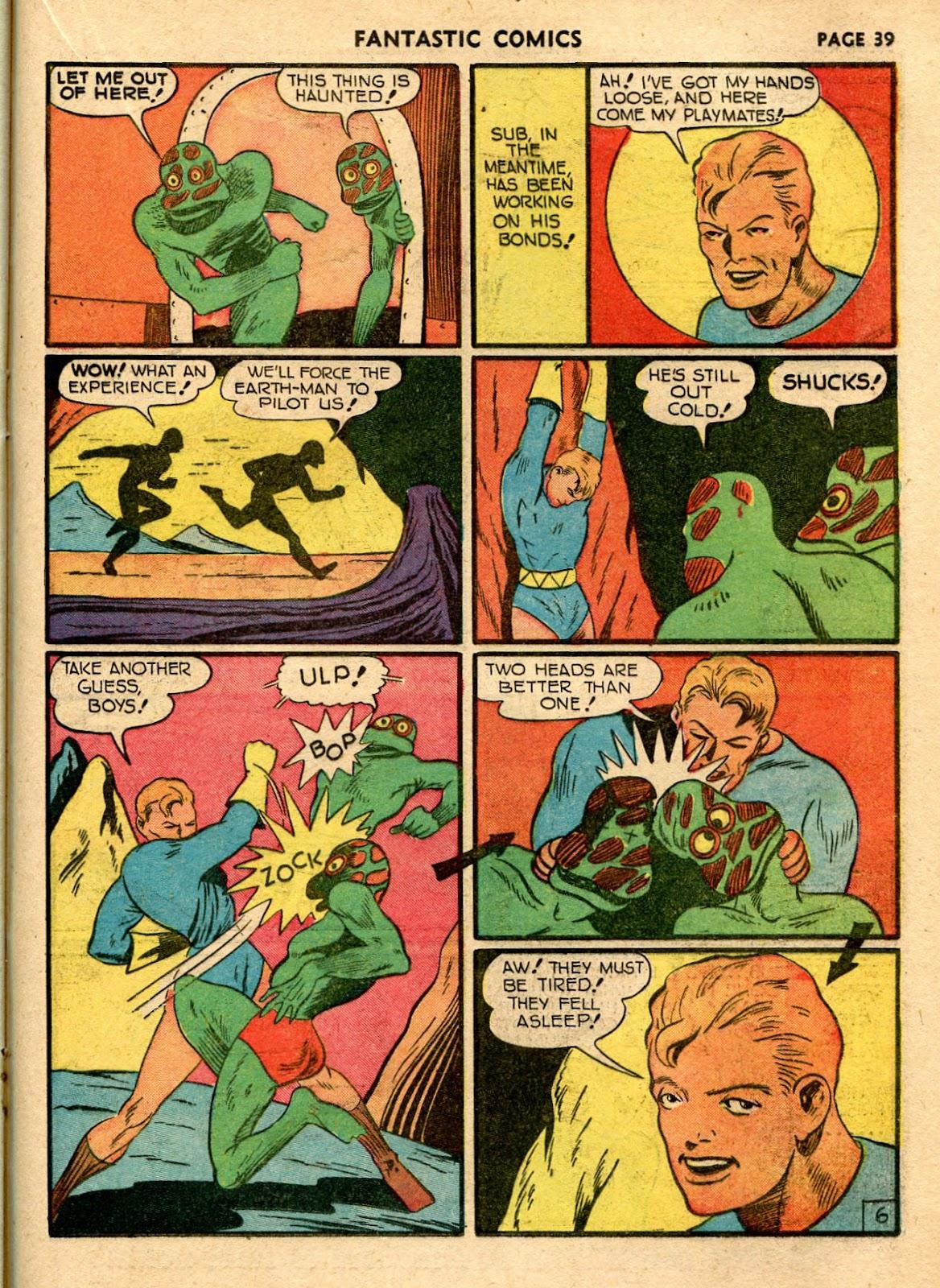 Read online Fantastic Comics comic -  Issue #21 - 37