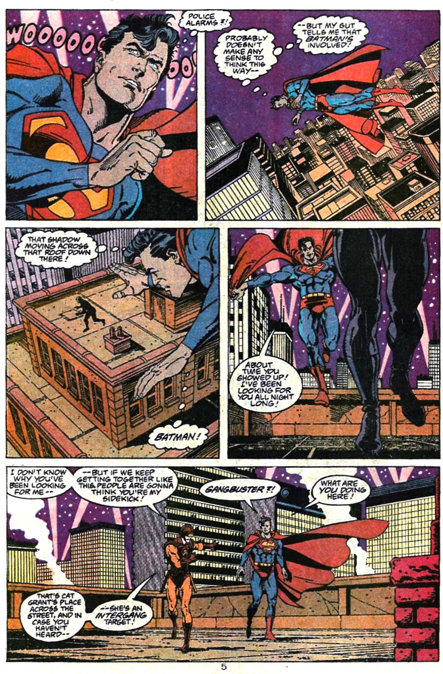 Read online Adventures of Superman (1987) comic -  Issue #467 - 7