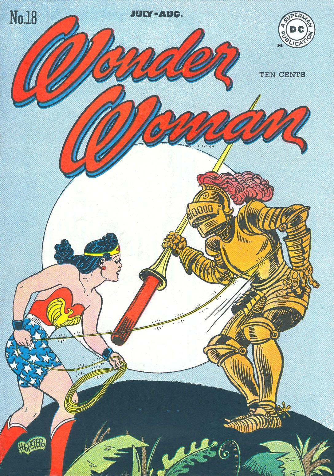 Read online Wonder Woman (1942) comic -  Issue #18 - 1