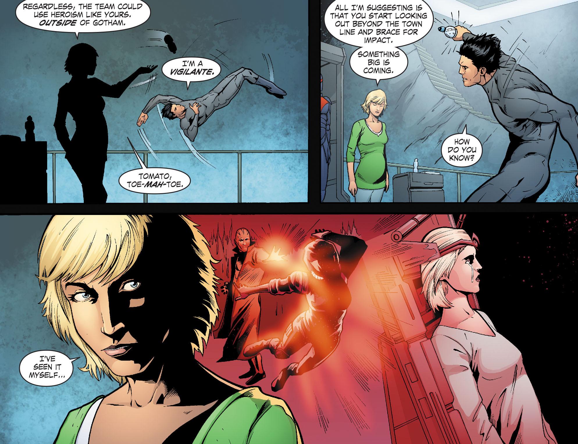 Read online Smallville: Alien comic -  Issue #7 - 18
