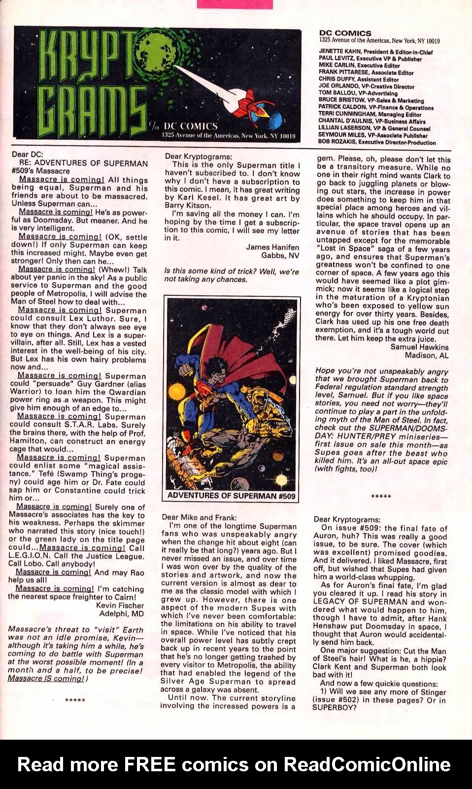 Read online Adventures of Superman (1987) comic -  Issue #513 - 24