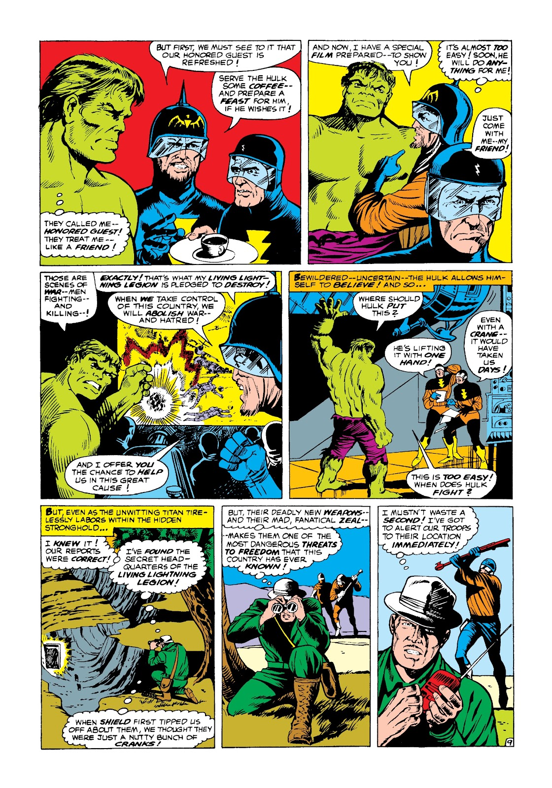 Read online Marvel Masterworks: The Incredible Hulk comic -  Issue # TPB 3 (Part 3) - 3