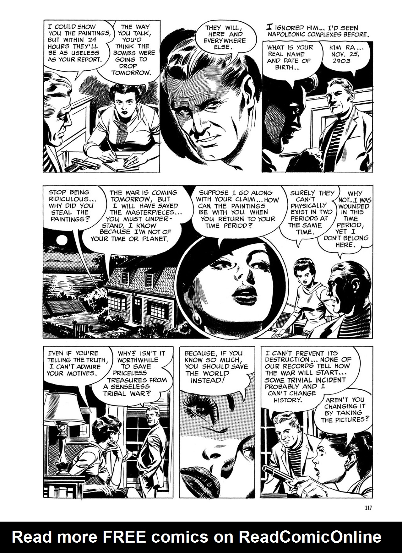 Read online Eerie Archives comic -  Issue # TPB 3 - 118