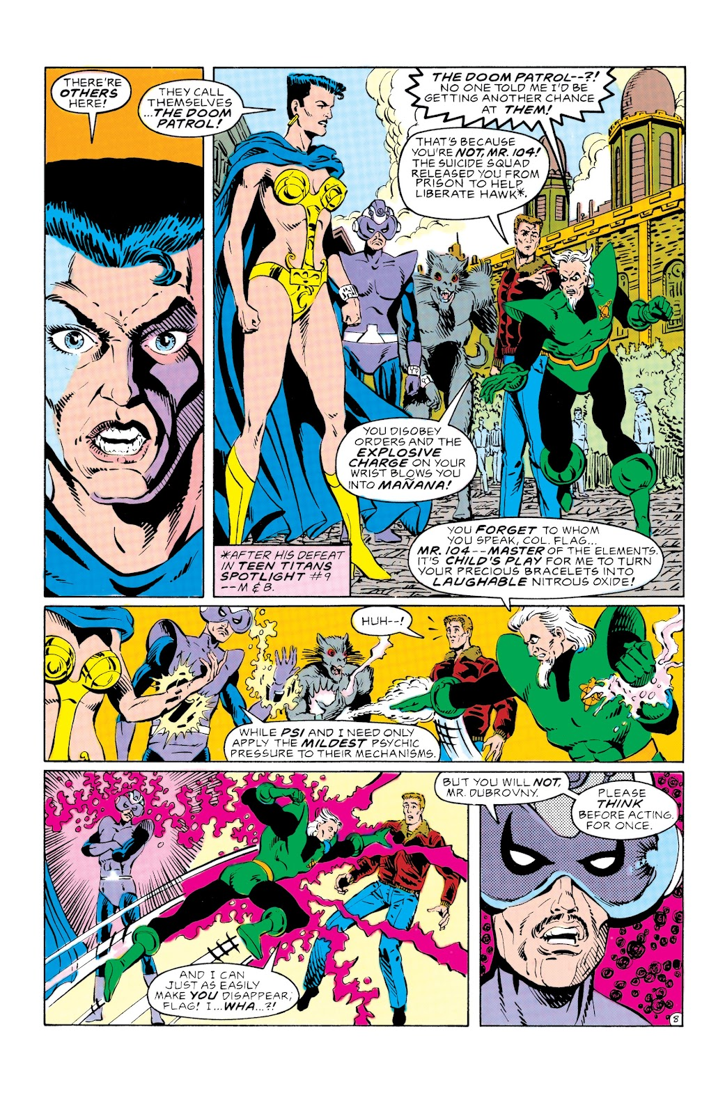 Doom Patrol and Suicide Squad Special issue Special 1 - Page 9