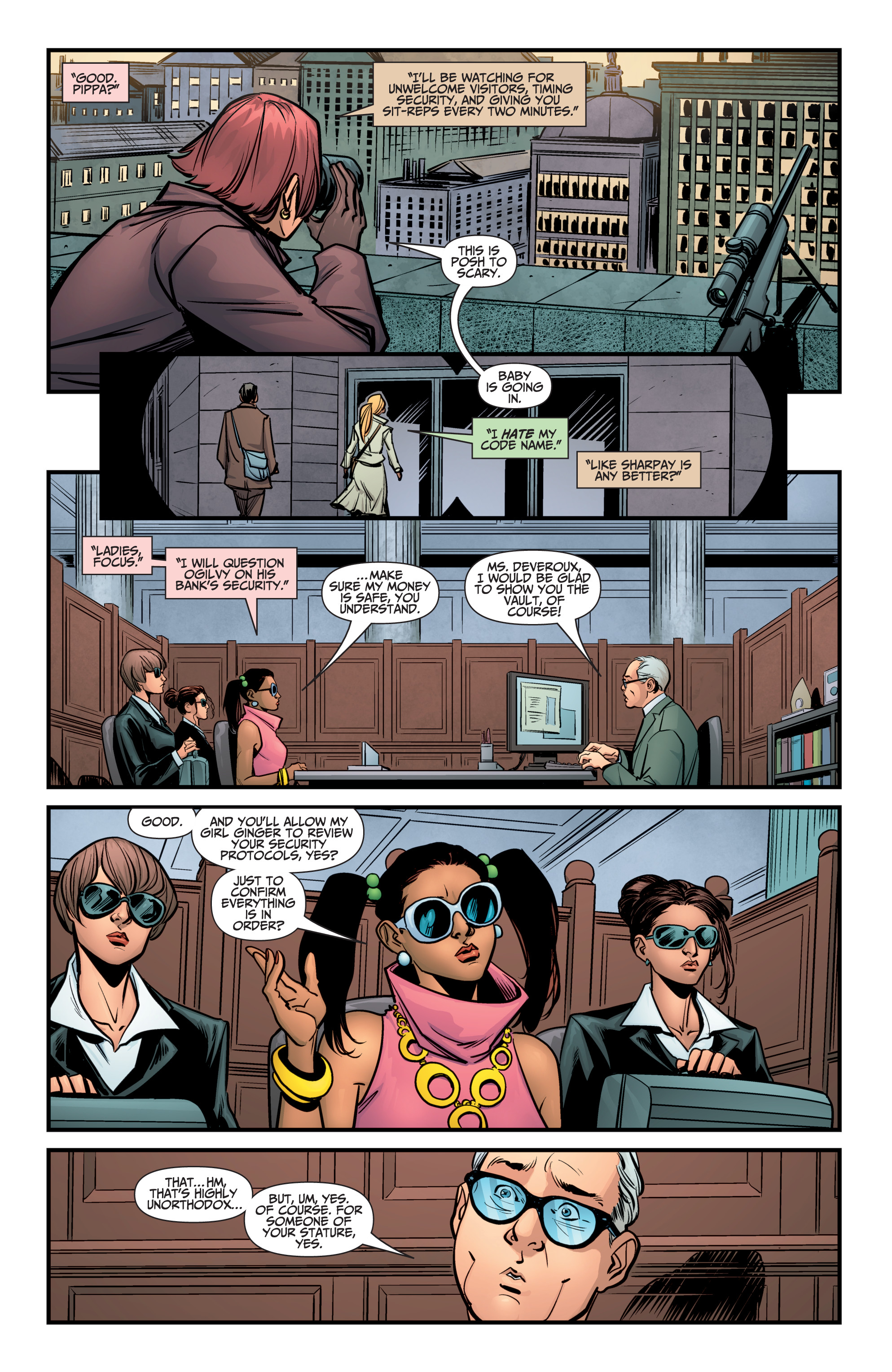 Read online A&A: The Adventures of Archer & Armstrong comic -  Issue #9 - 16