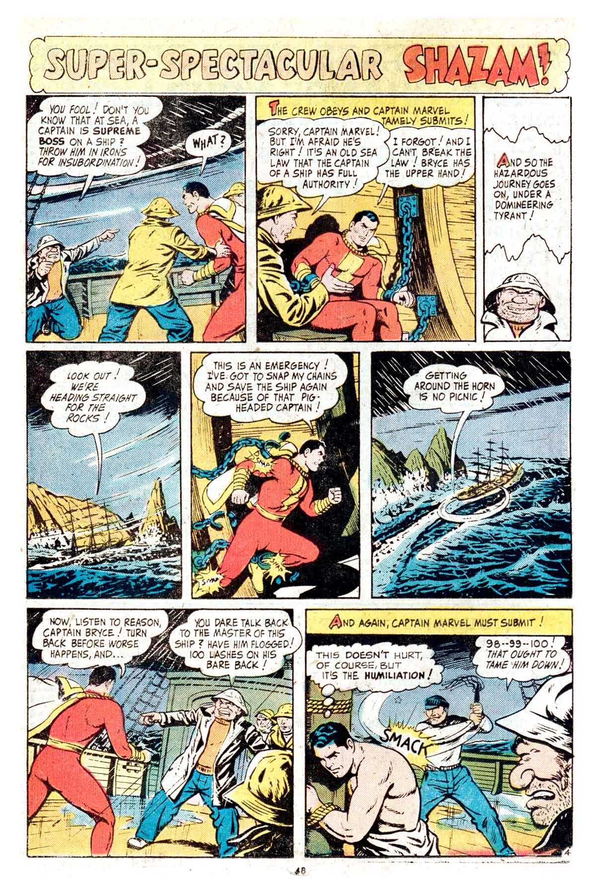 Read online Shazam! (1973) comic -  Issue #17 - 48