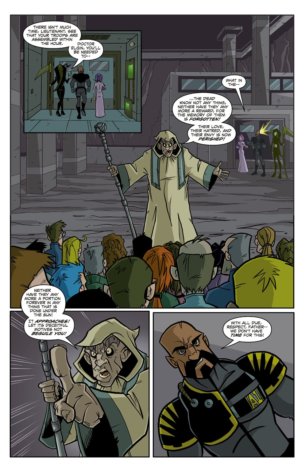 Read online Xombie Reanimated comic -  Issue #3 - 16