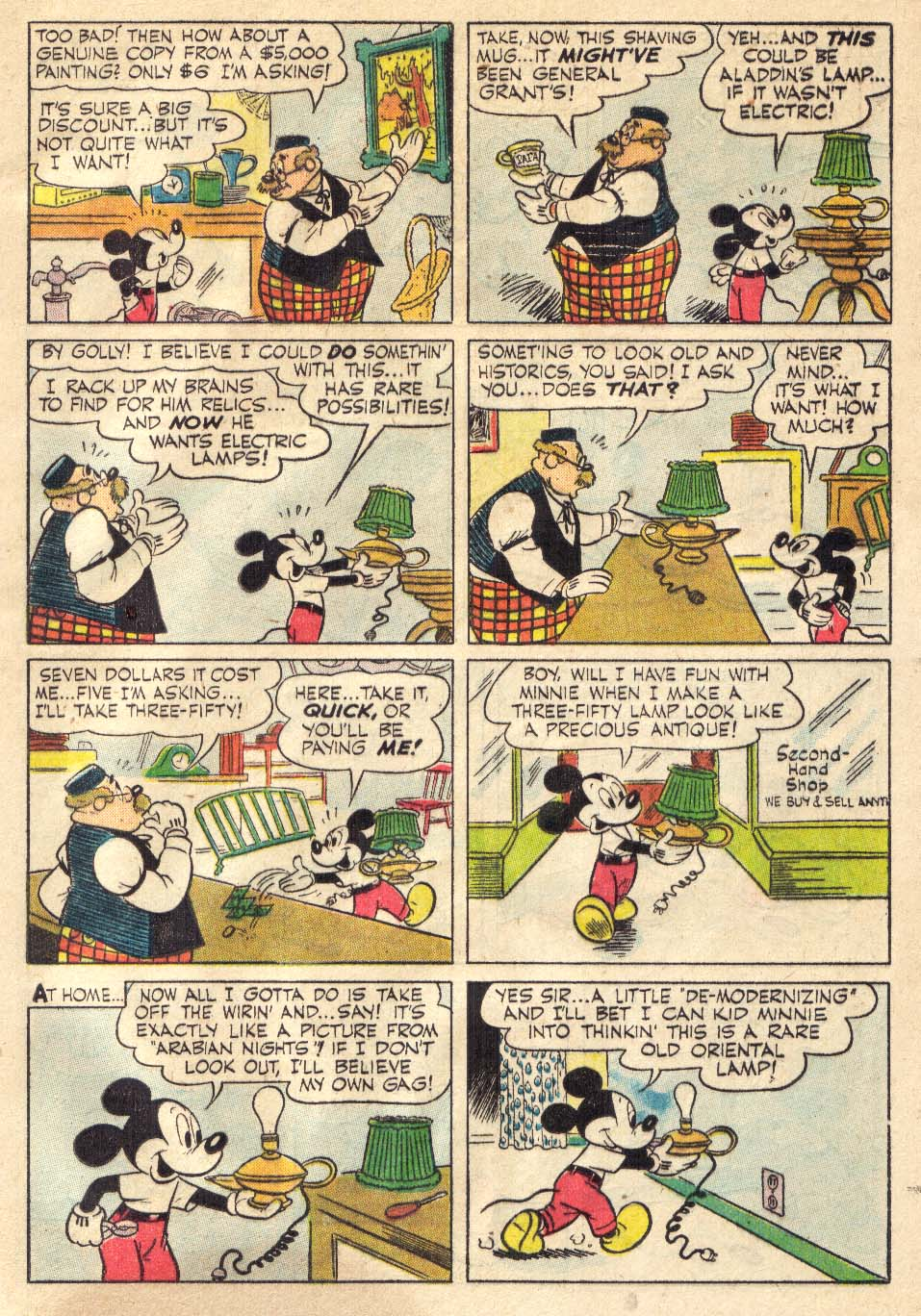Walt Disney's Comics and Stories issue 146 - Page 45