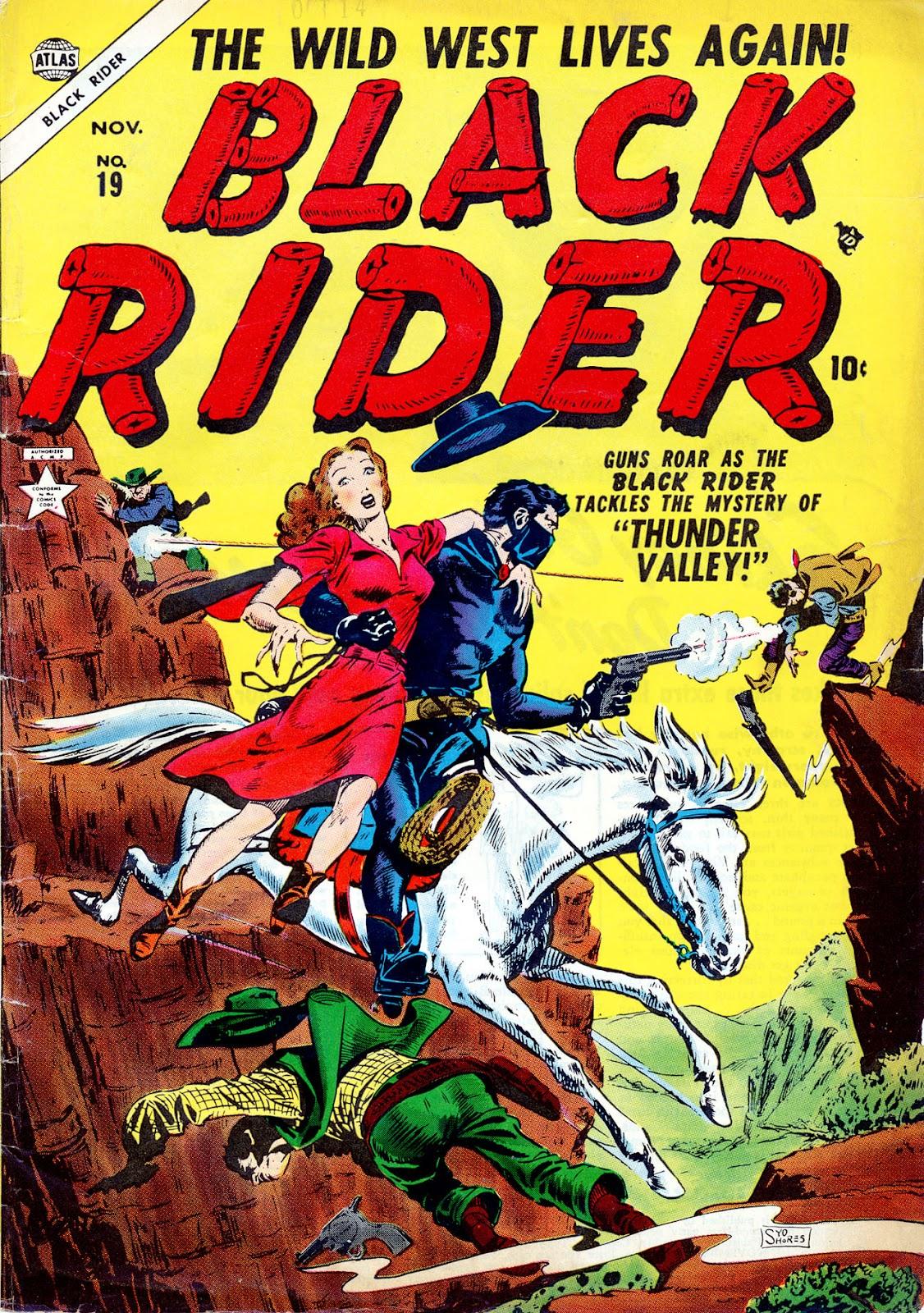 Black Rider issue 19 - Page 1