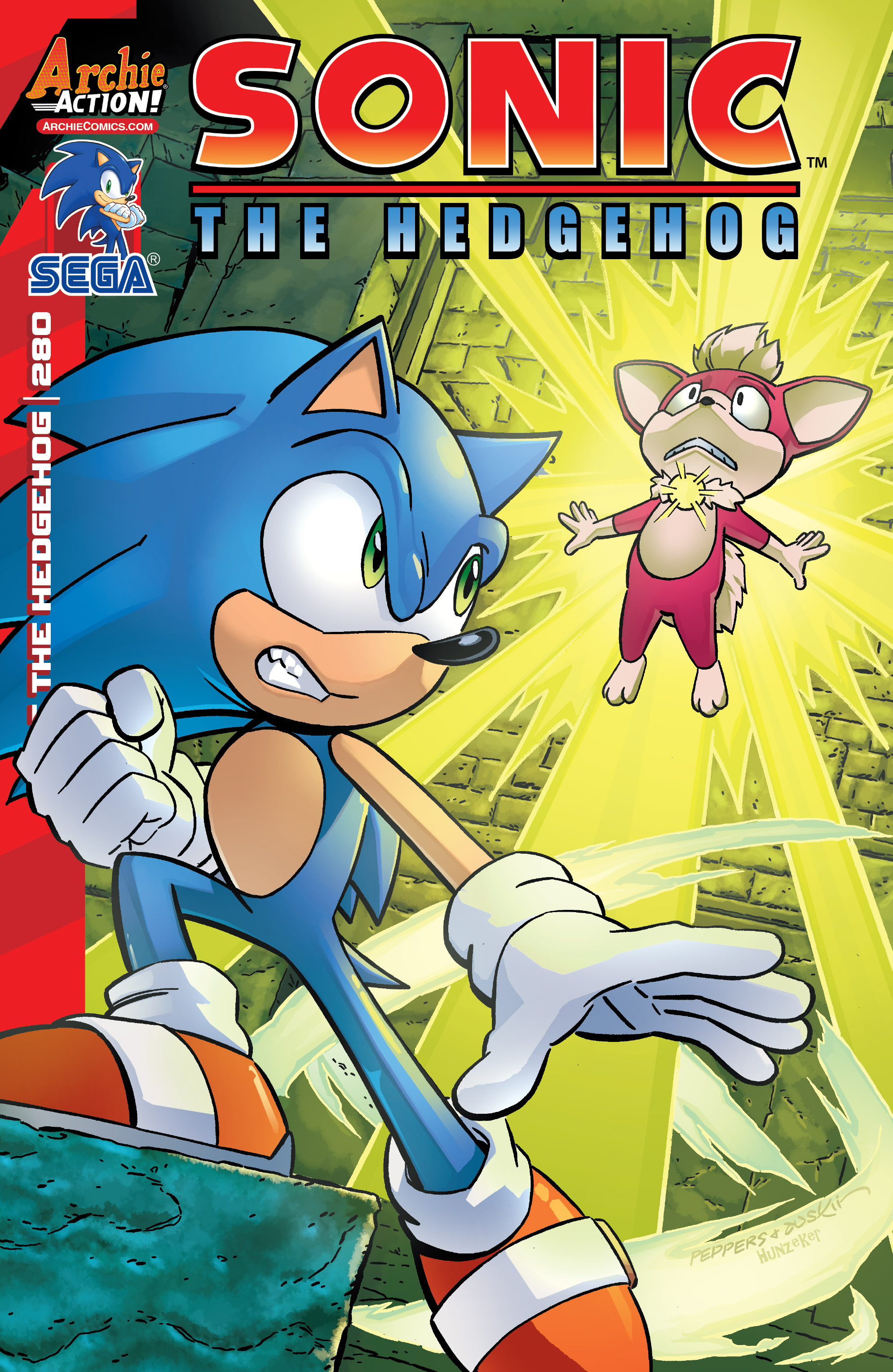 Sonic The Hedgehog (1993) 280 Page 1