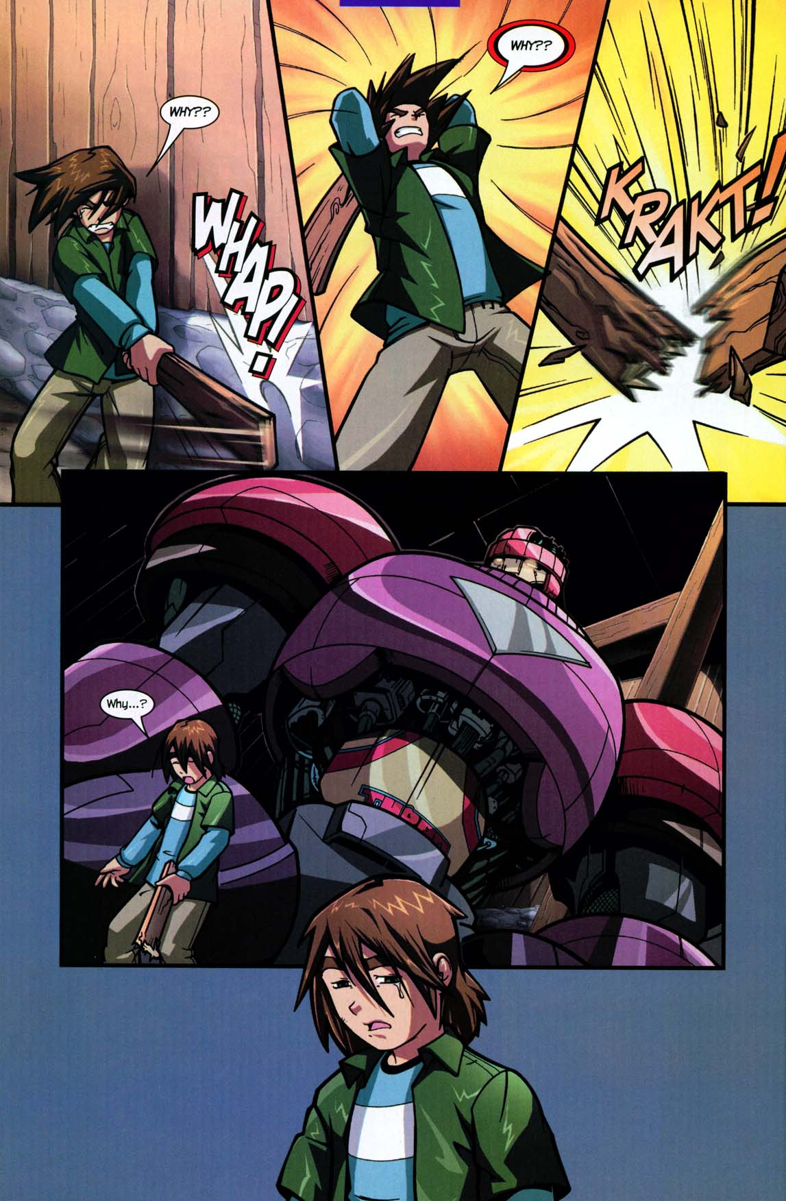 Read online Sentinel comic -  Issue #5 - 16
