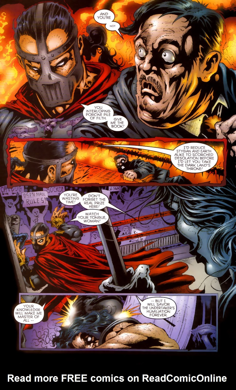Read online Undertaker (1999) comic -  Issue #0.5 - 11