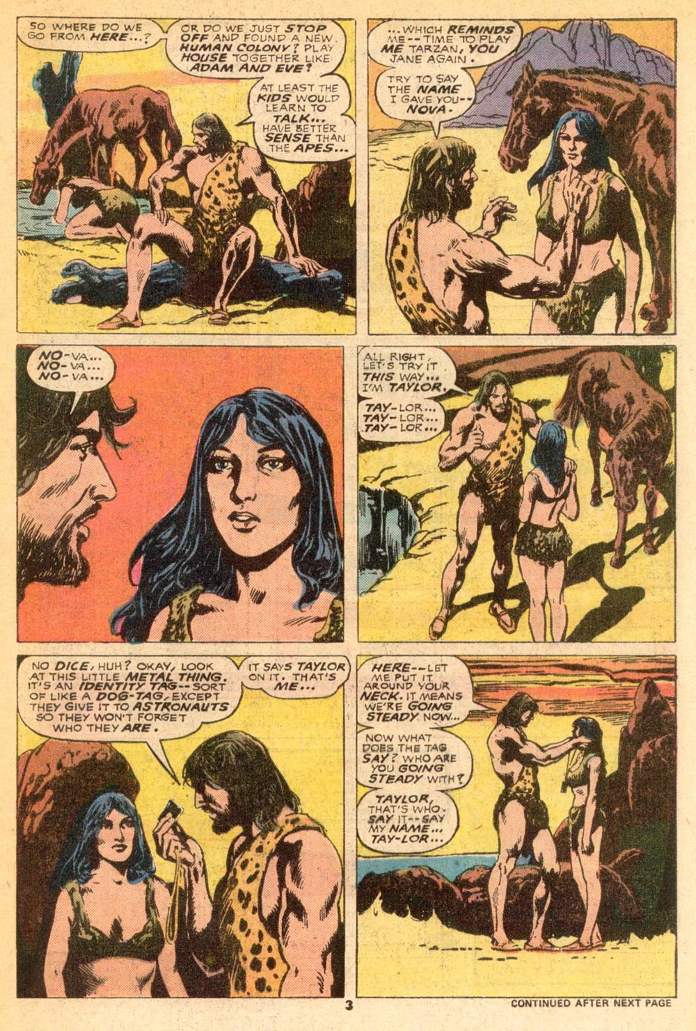 Read online Adventures on the Planet of the Apes comic -  Issue #7 - 4