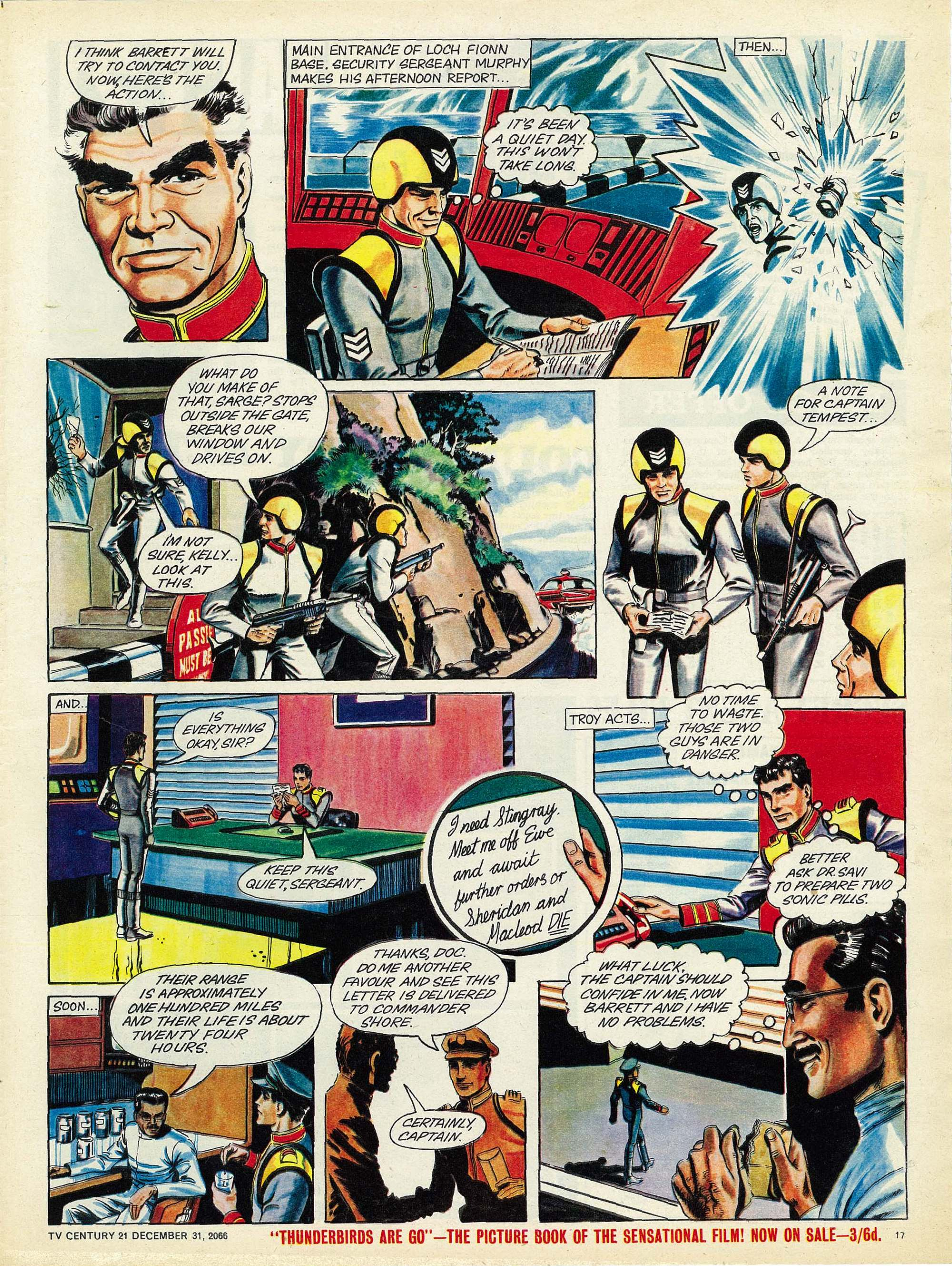 Read online TV Century 21 (TV 21) comic -  Issue #102 - 16