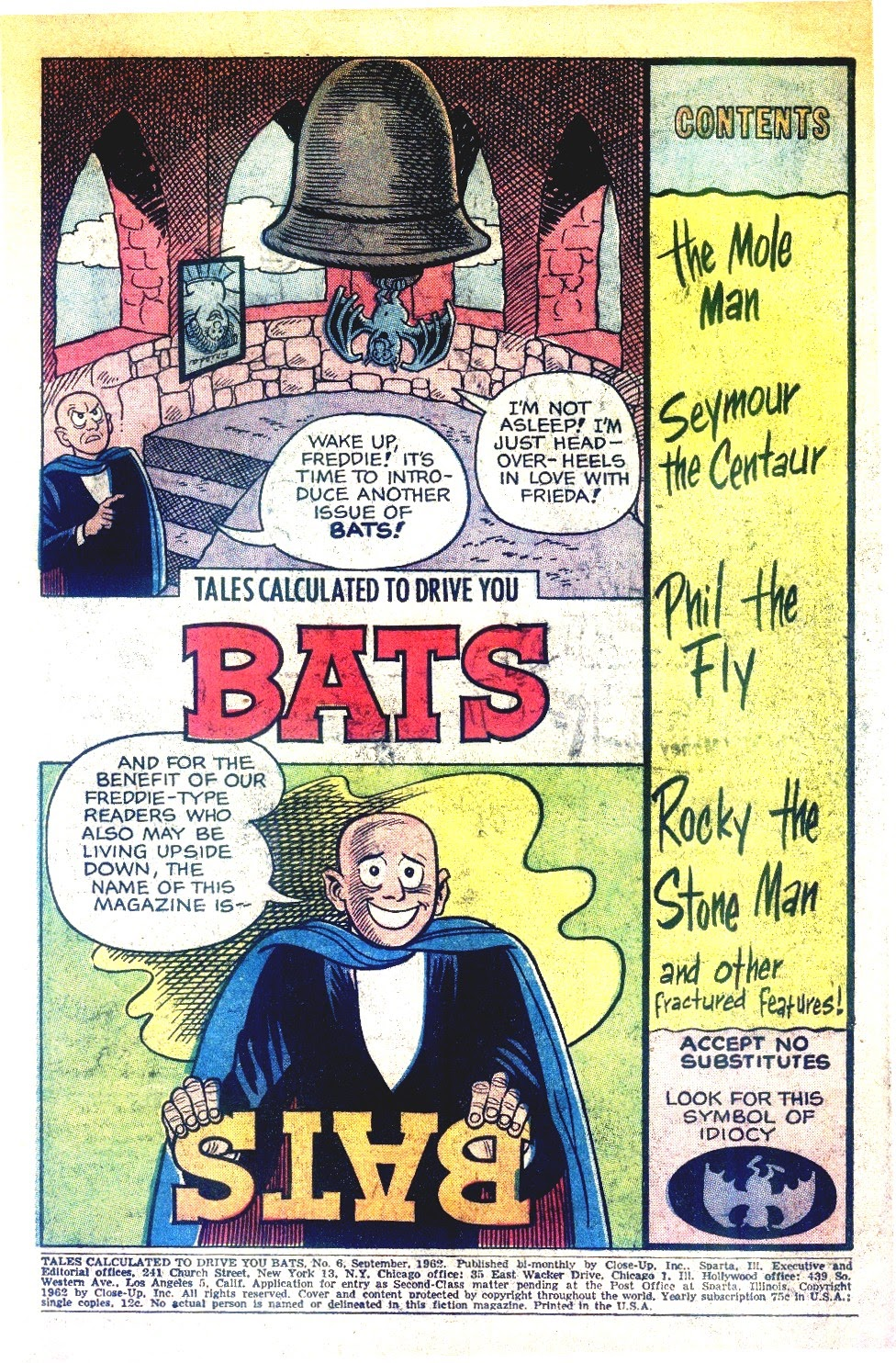 Read online Tales Calculated to Drive You Bats comic -  Issue #6 - 3