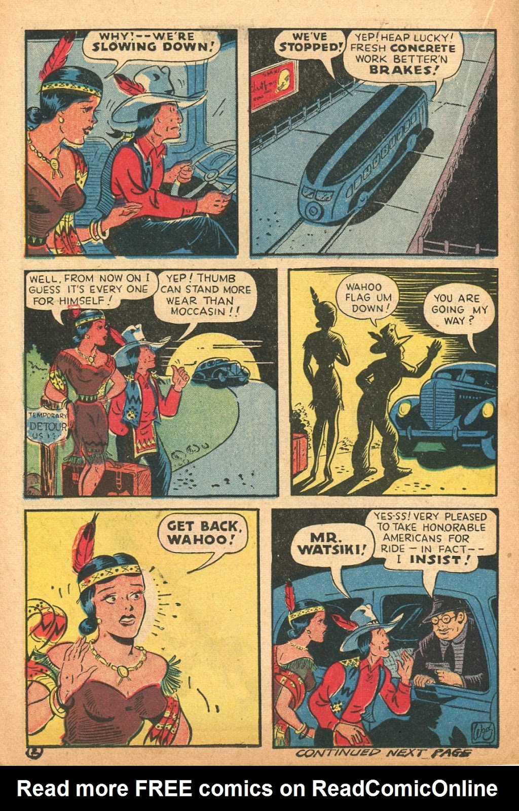 Read online Famous Funnies comic -  Issue #132 - 14