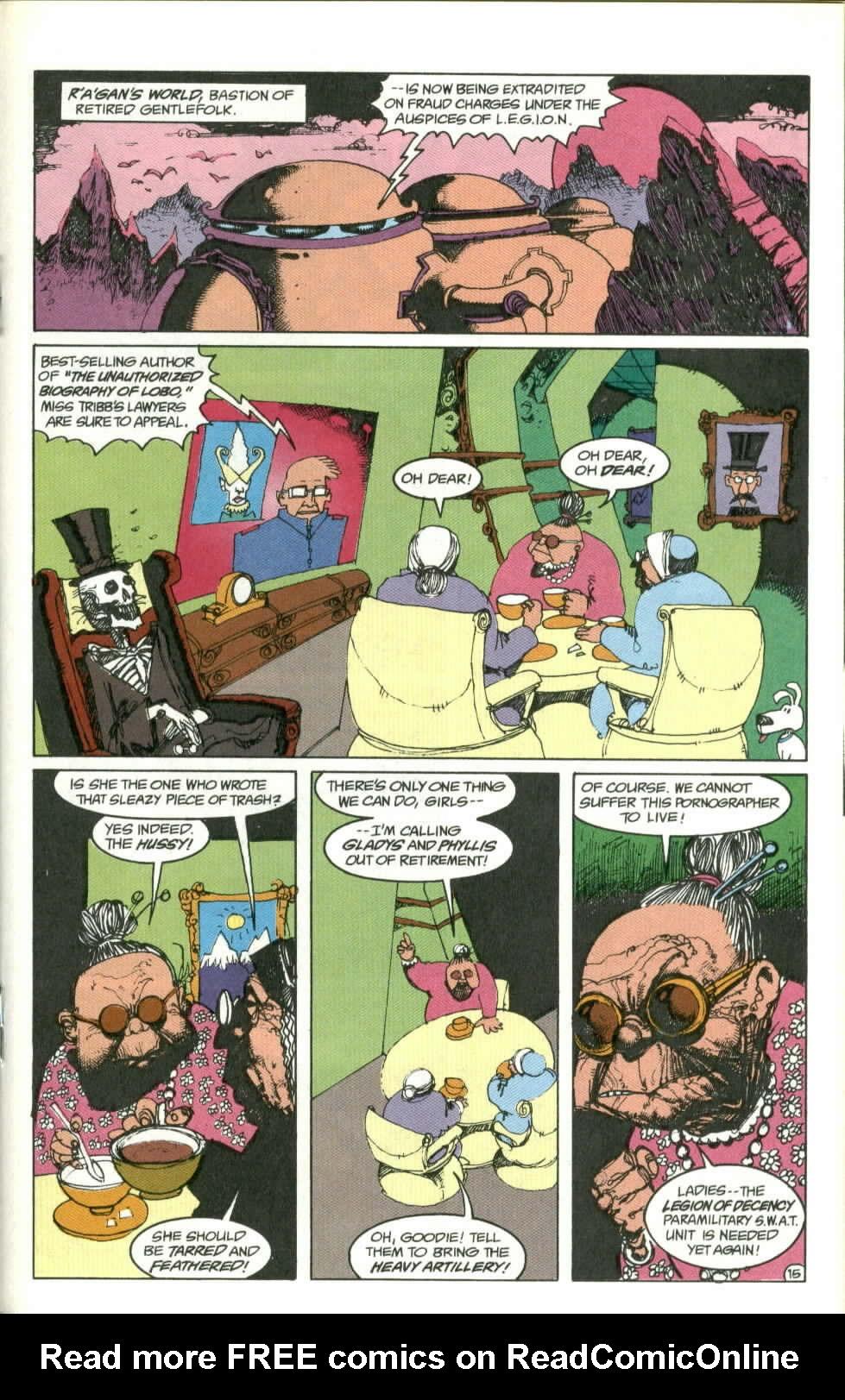 Read online Lobo (1990) comic -  Issue #1 - 16