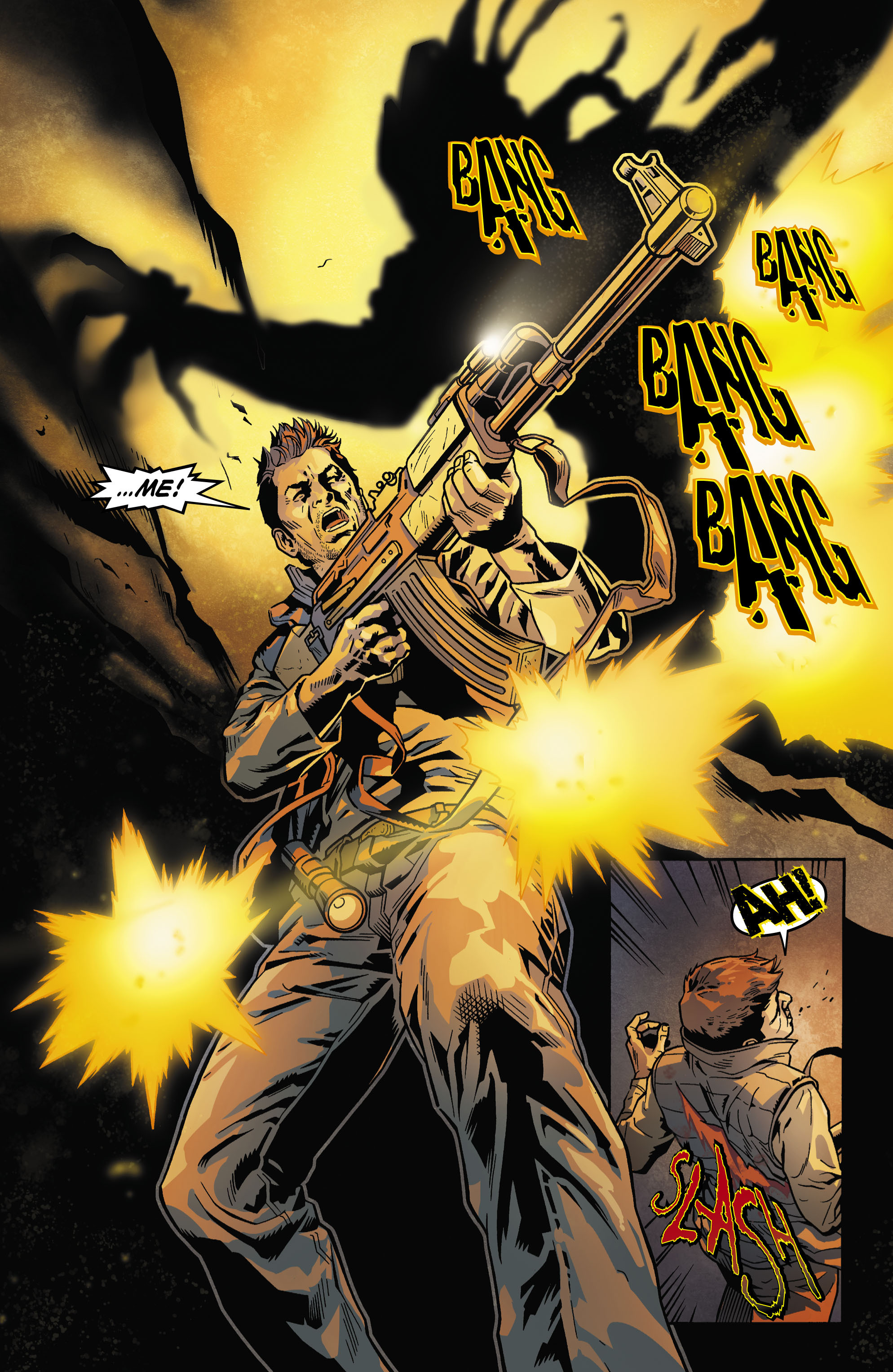 Read online Uncharted comic -  Issue #5 - 4