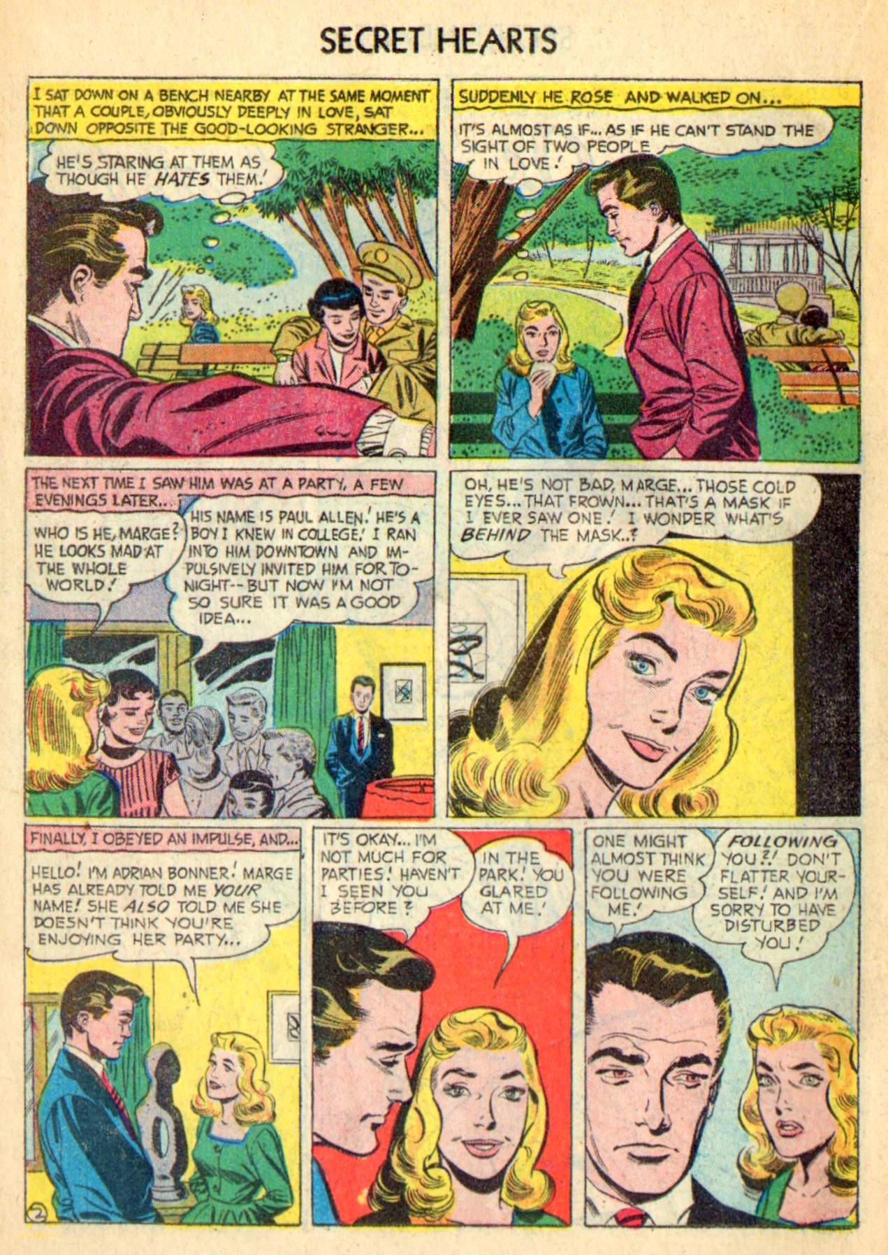 Read online Secret Hearts comic -  Issue #31 - 18