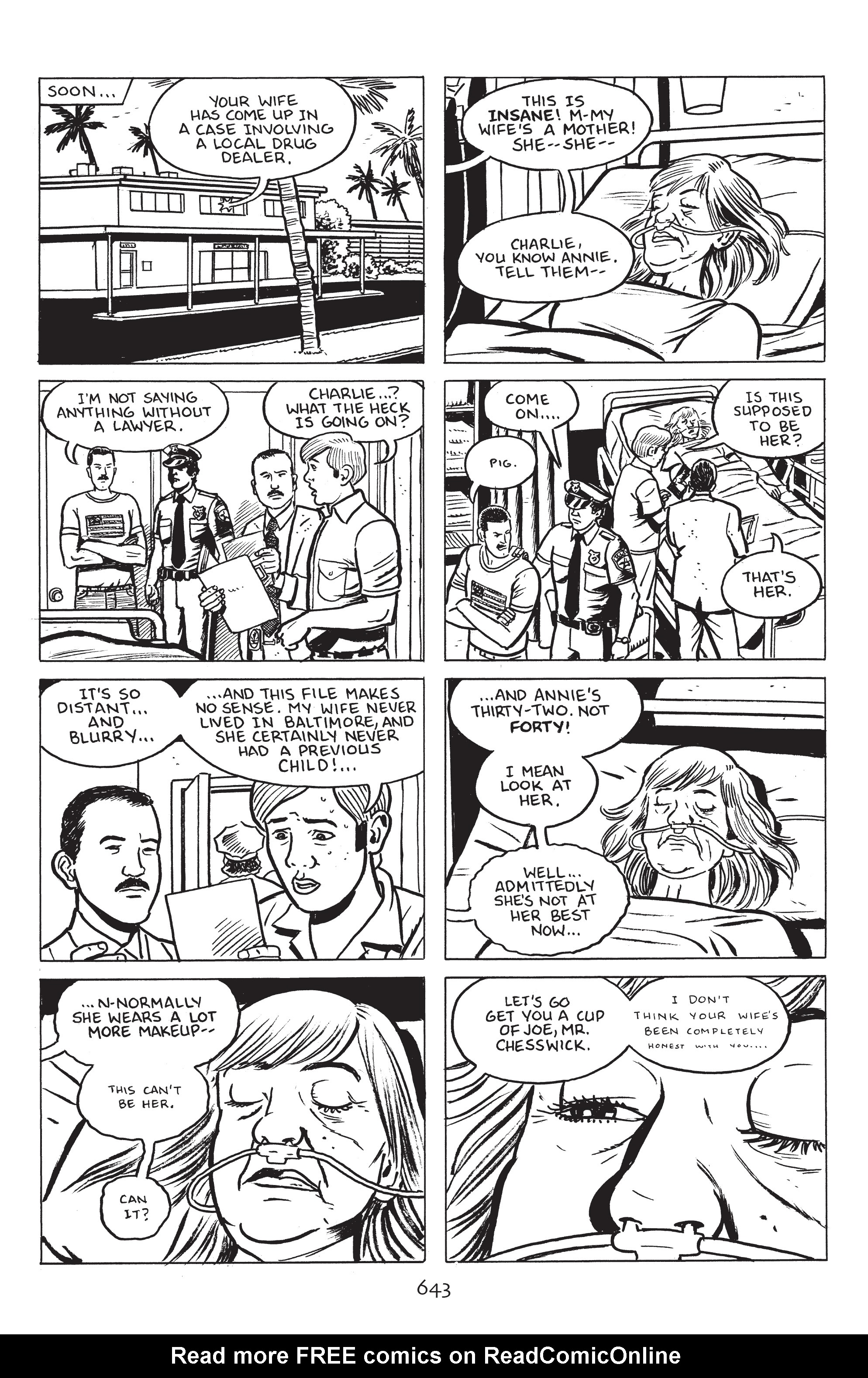Read online Stray Bullets: Sunshine & Roses comic -  Issue #23 - 26