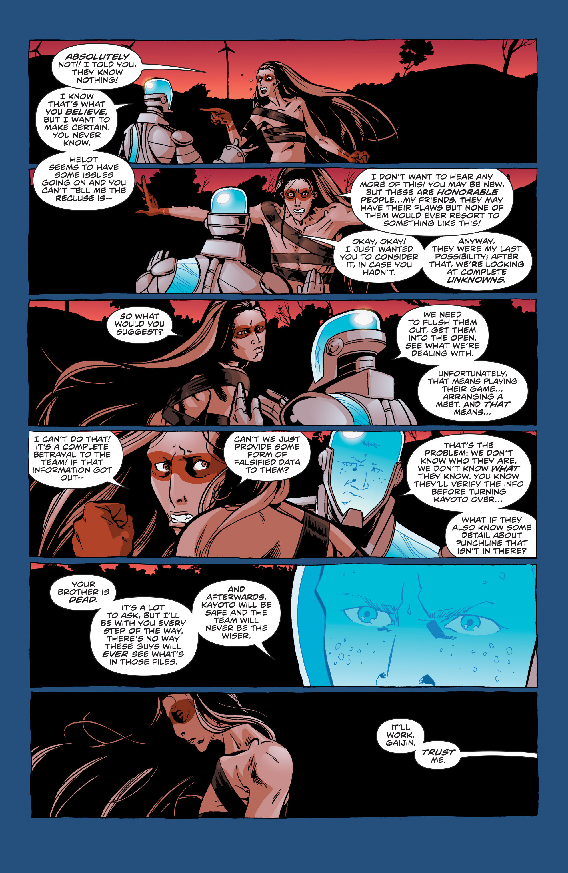 Read online Secret Identities comic -  Issue # _TPB - 110