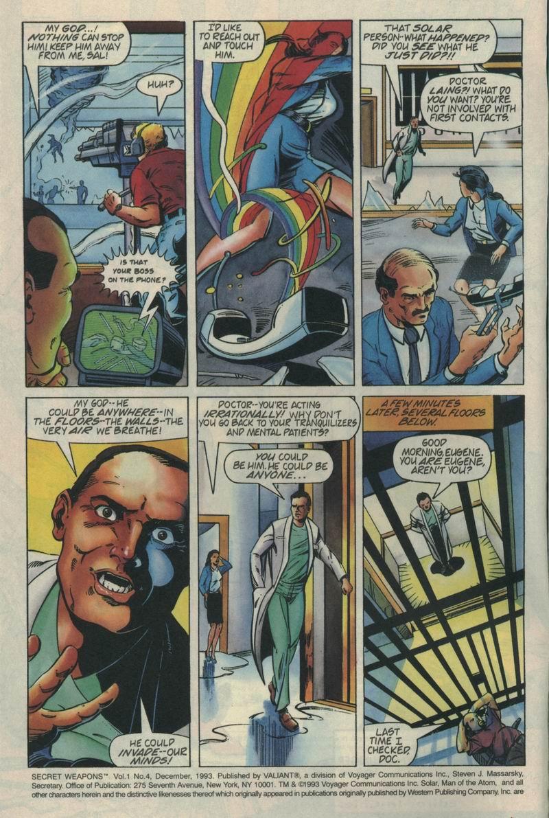 Read online Secret Weapons comic -  Issue #4 - 3
