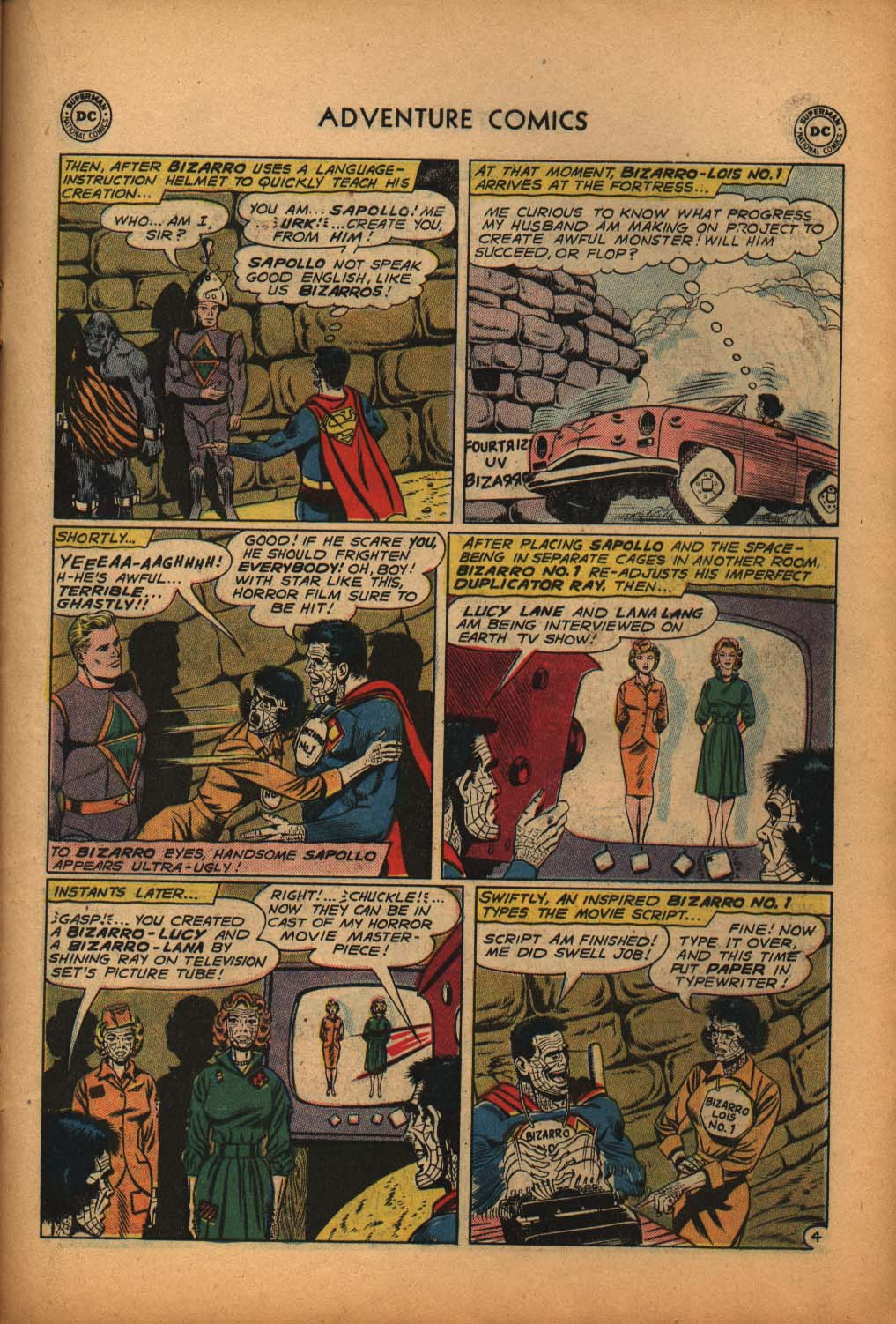 Read online Adventure Comics (1938) comic -  Issue #292 - 23
