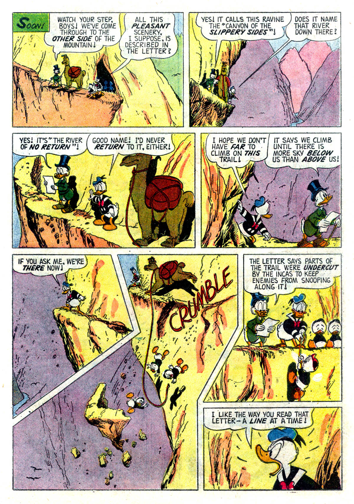 Read online Uncle Scrooge (1953) comic -  Issue #26 - 7
