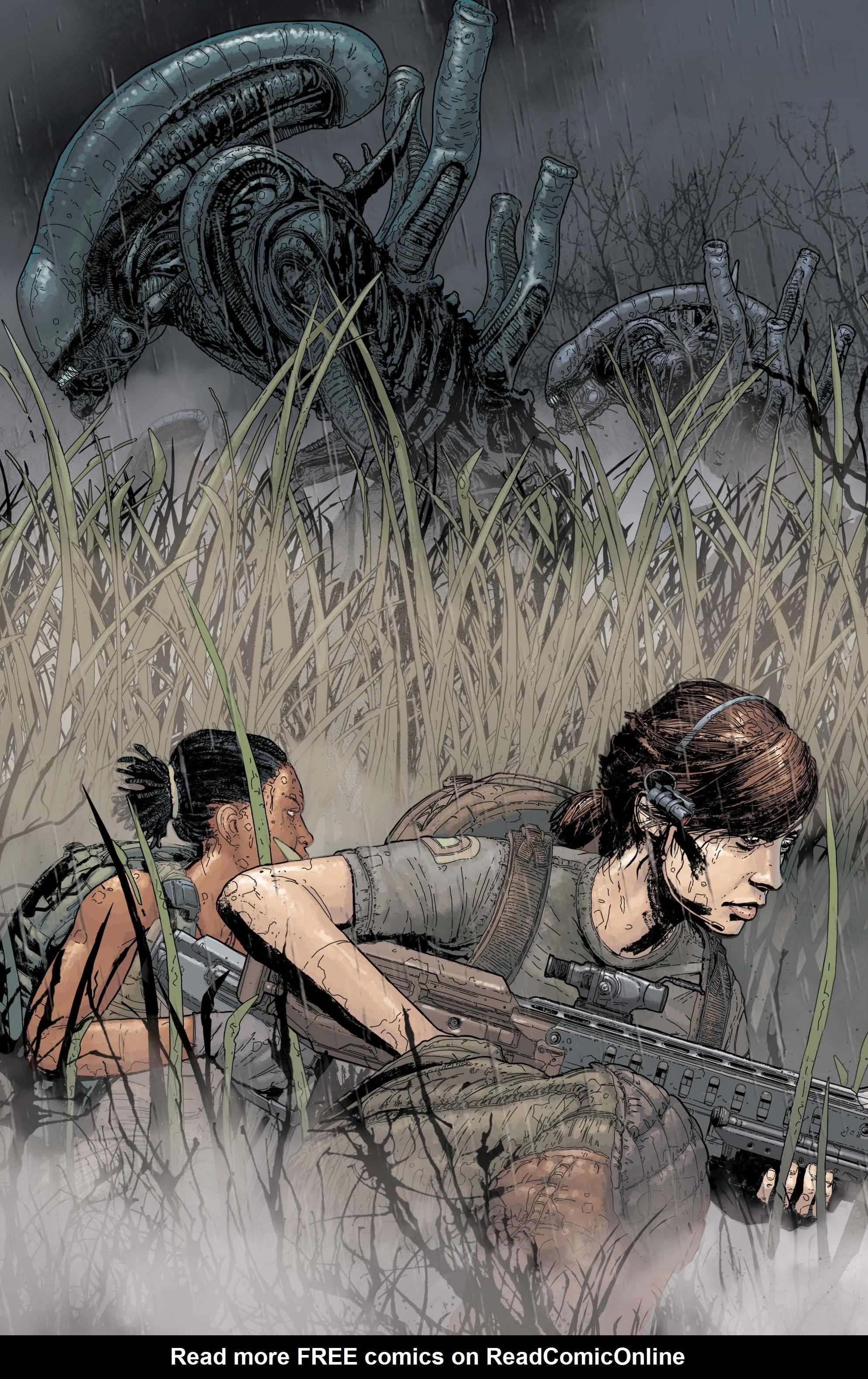 Read online Aliens: Resistance comic -  Issue # _TPB - 49