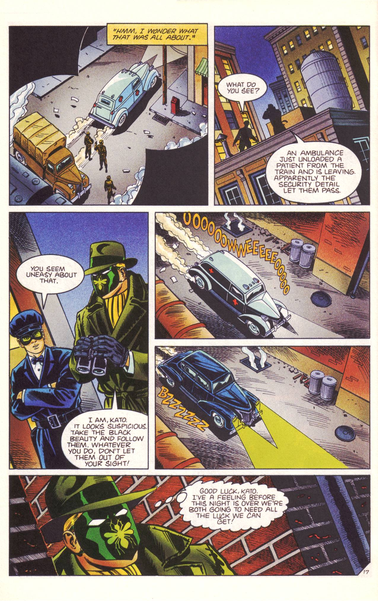 Read online Sting of The Green Hornet comic -  Issue #3 - 18