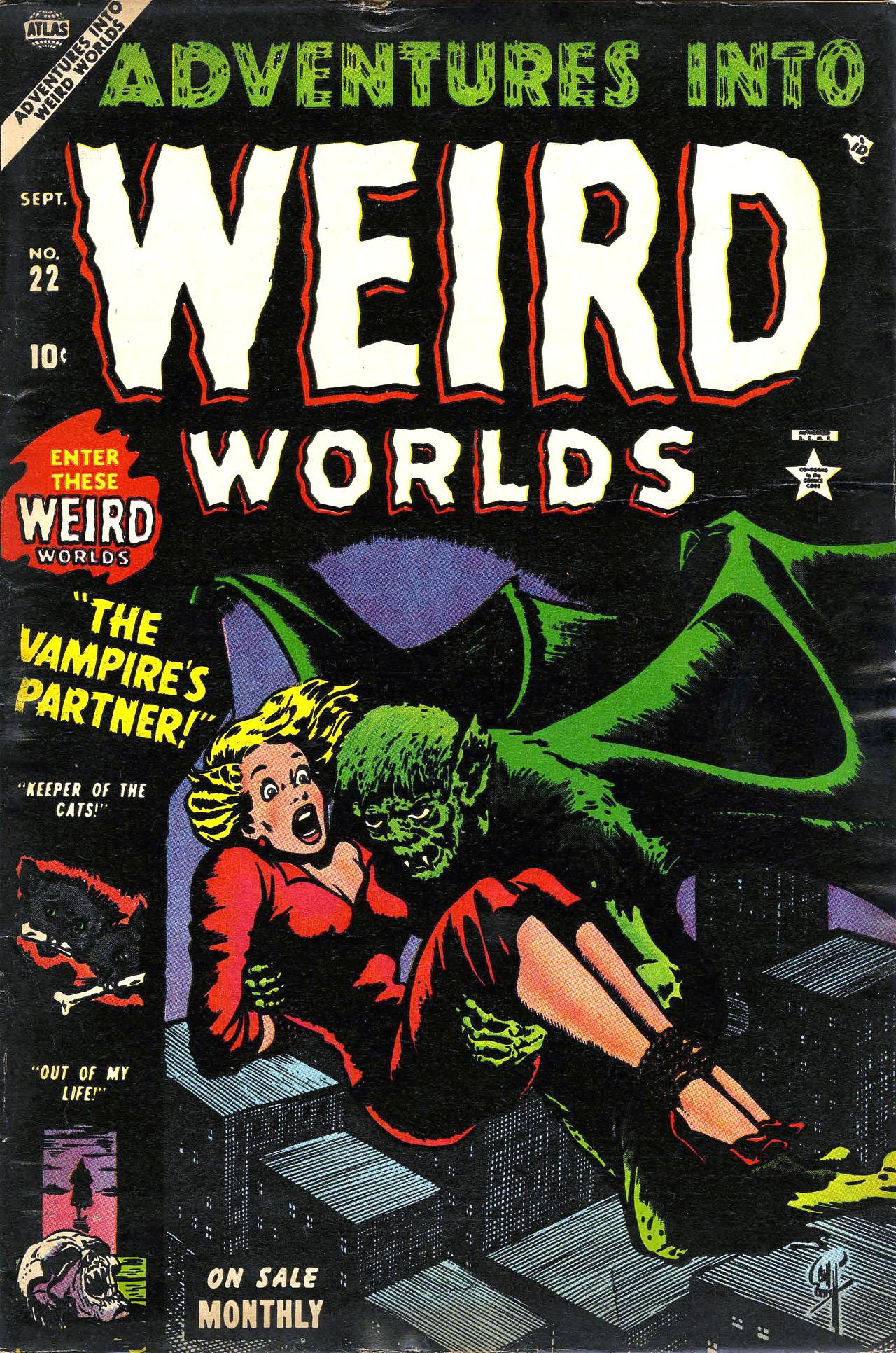 Adventures into Weird Worlds 22 Page 1