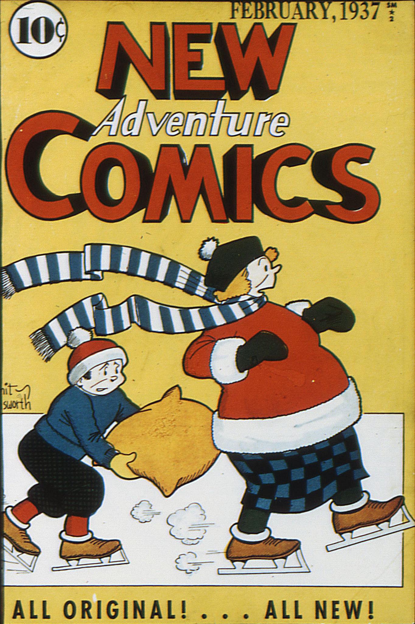 Read online Adventure Comics (1938) comic -  Issue #13 - 1