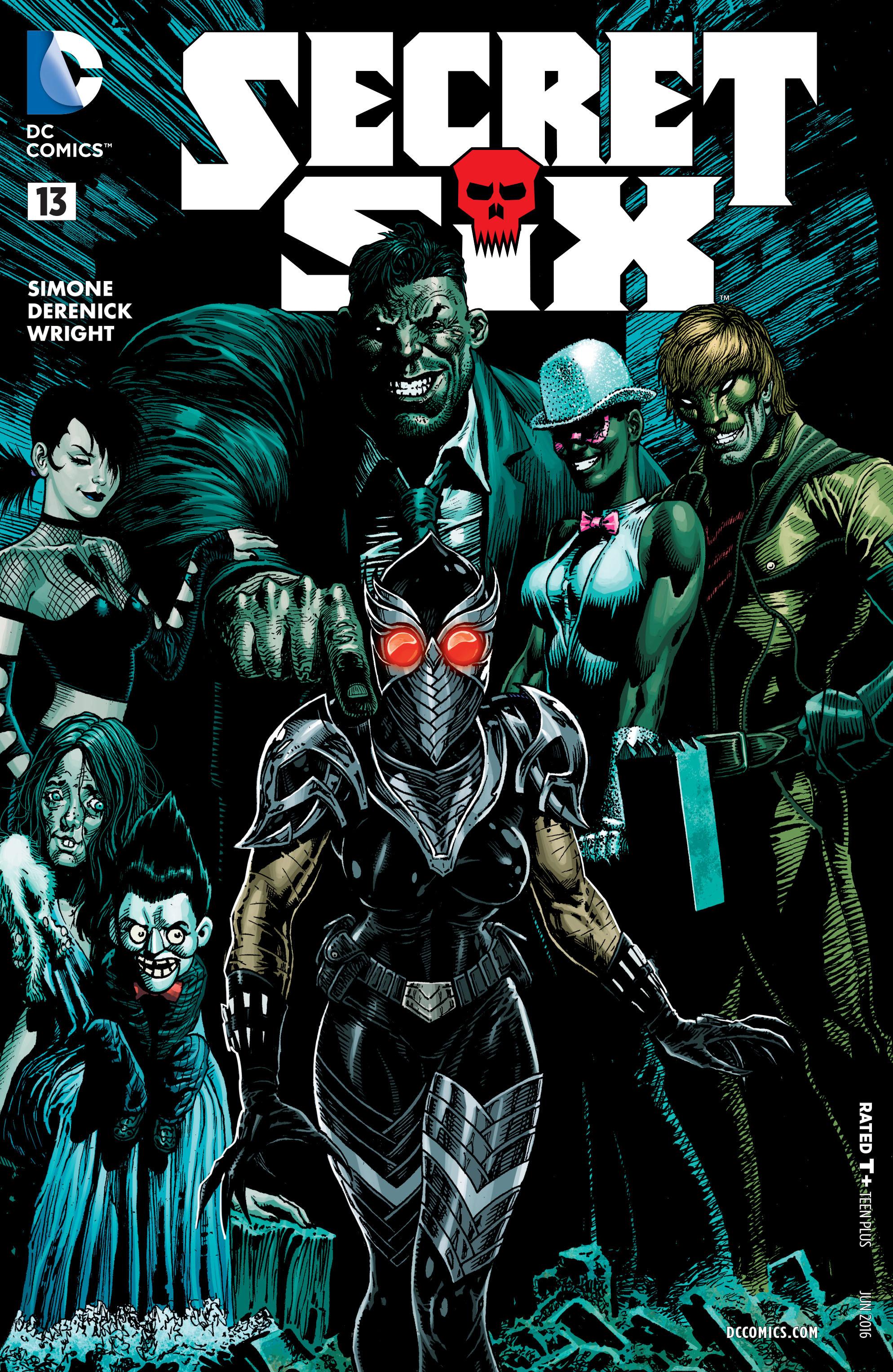 Read online Secret Six (2015) comic -  Issue #13 - 1
