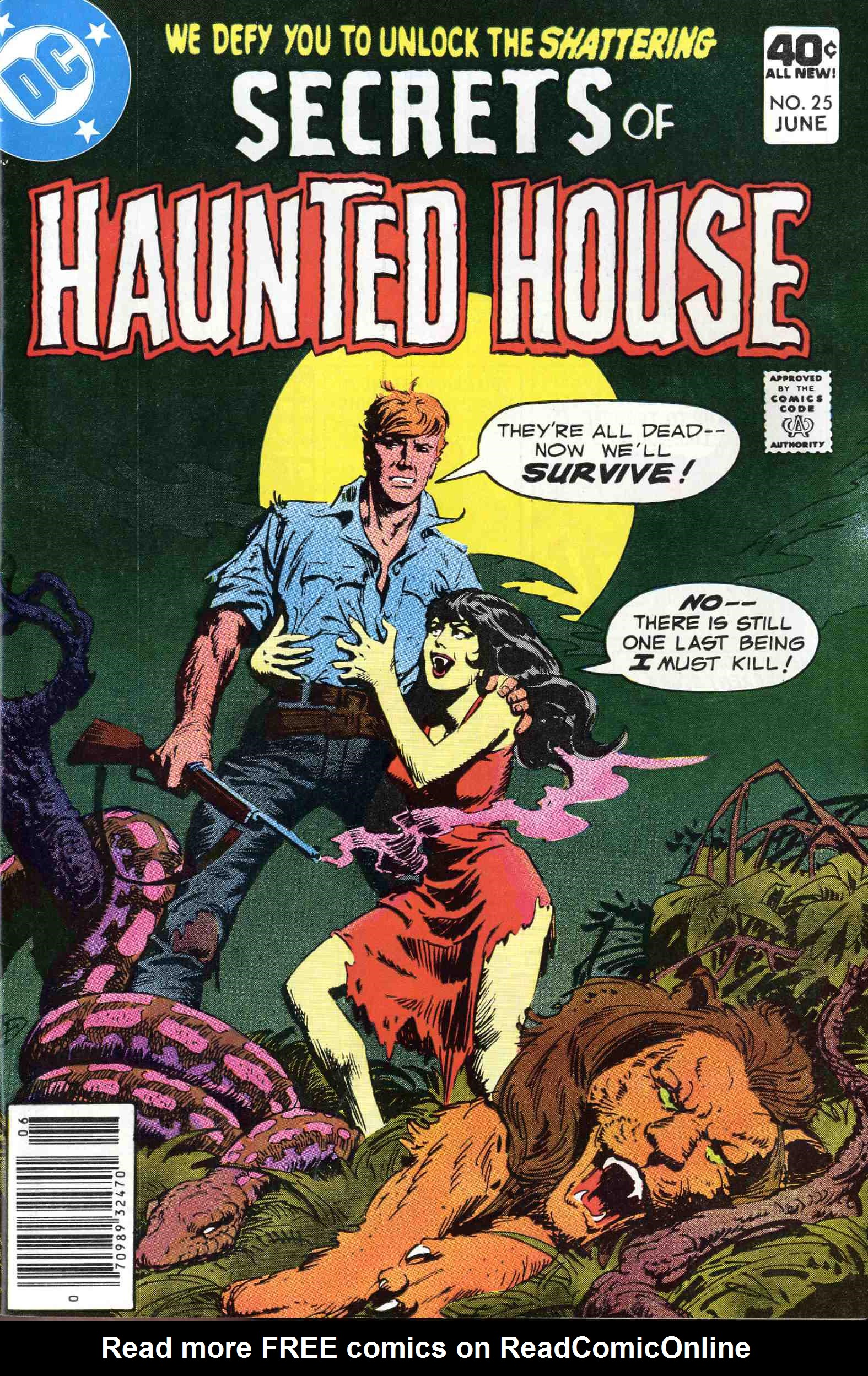 Read online Secrets of Haunted House comic -  Issue #25 - 1