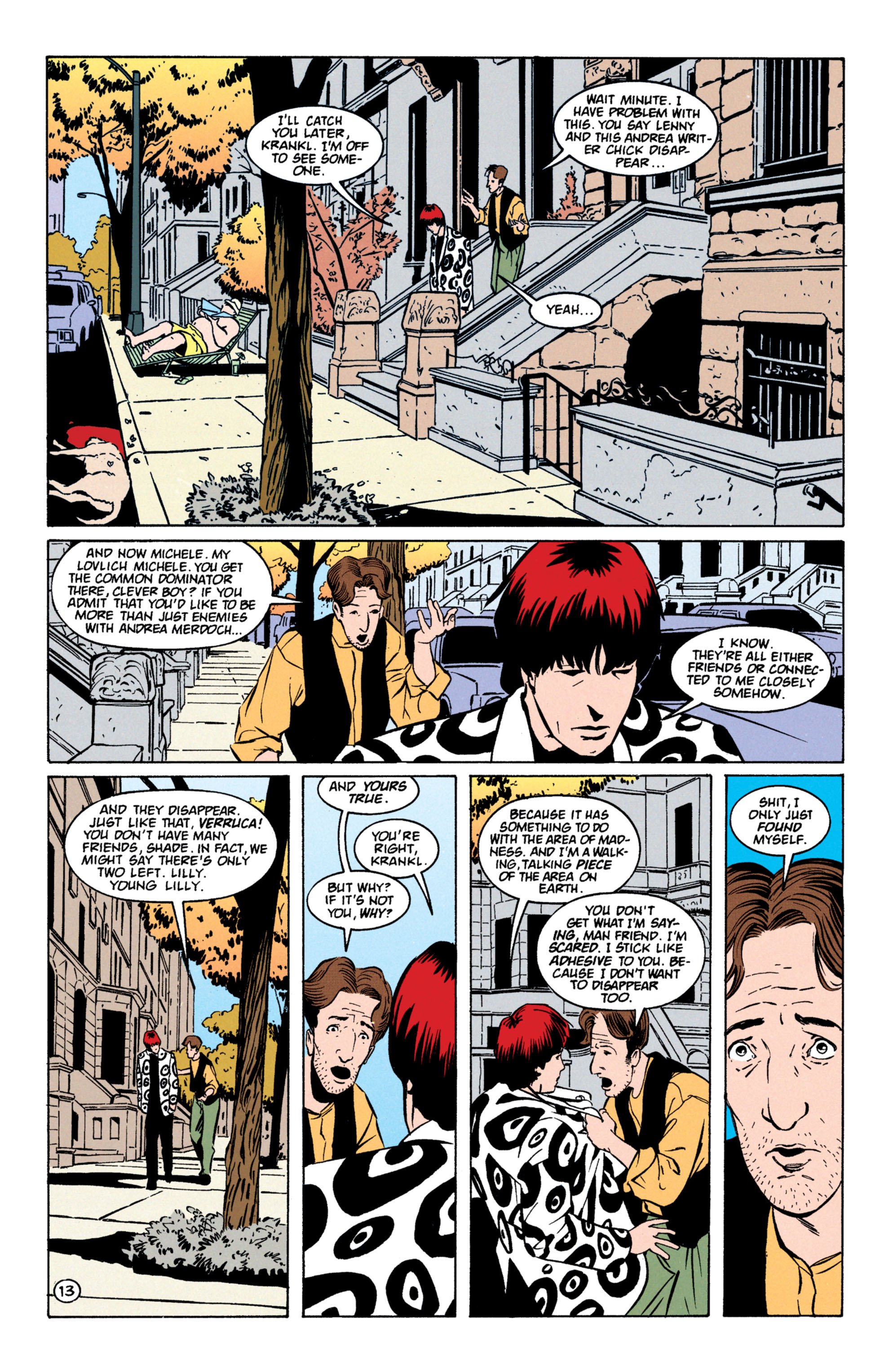 Read online Shade, the Changing Man comic -  Issue #59 - 14