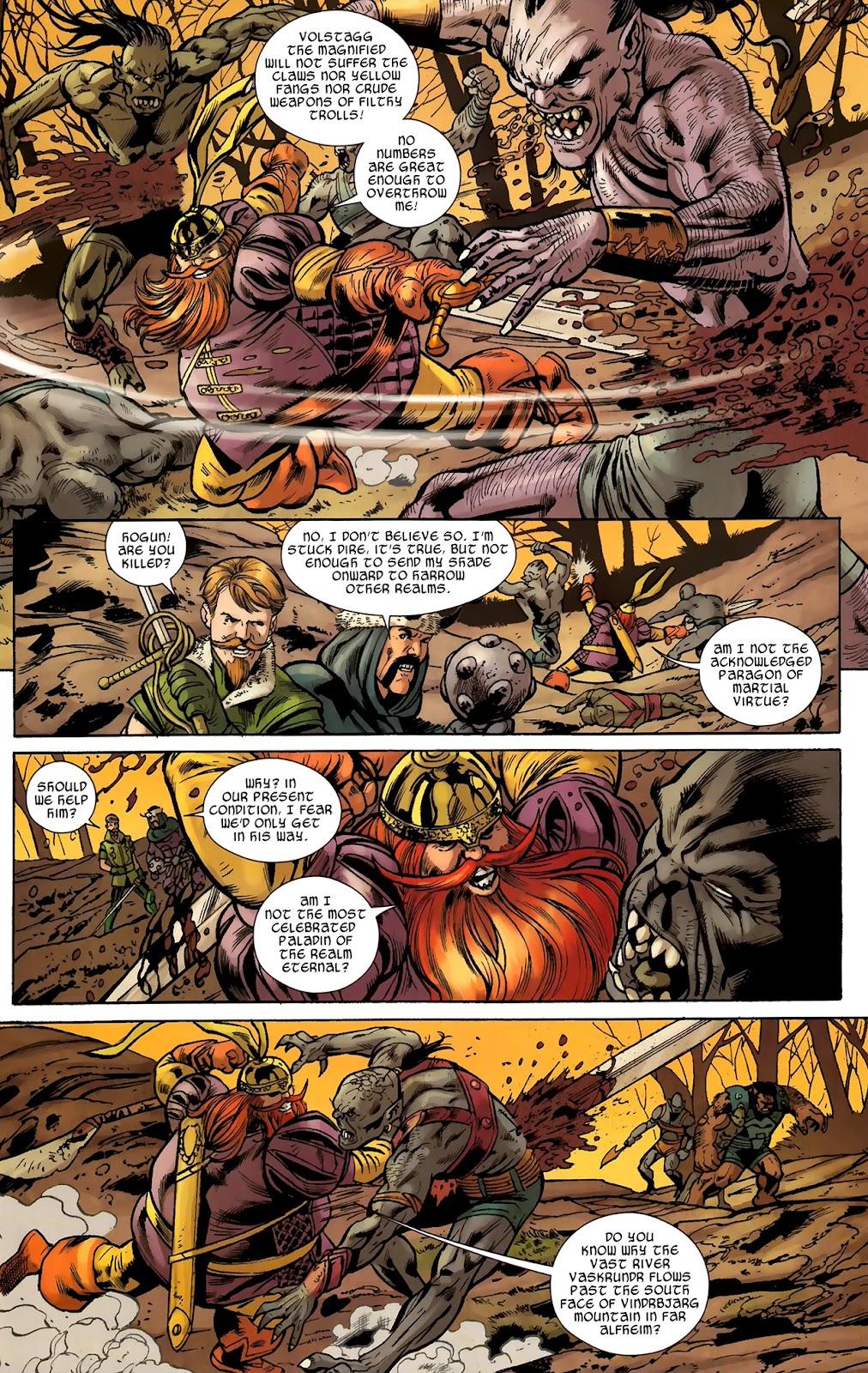 Warriors Three Issue #2 #2 - English 6