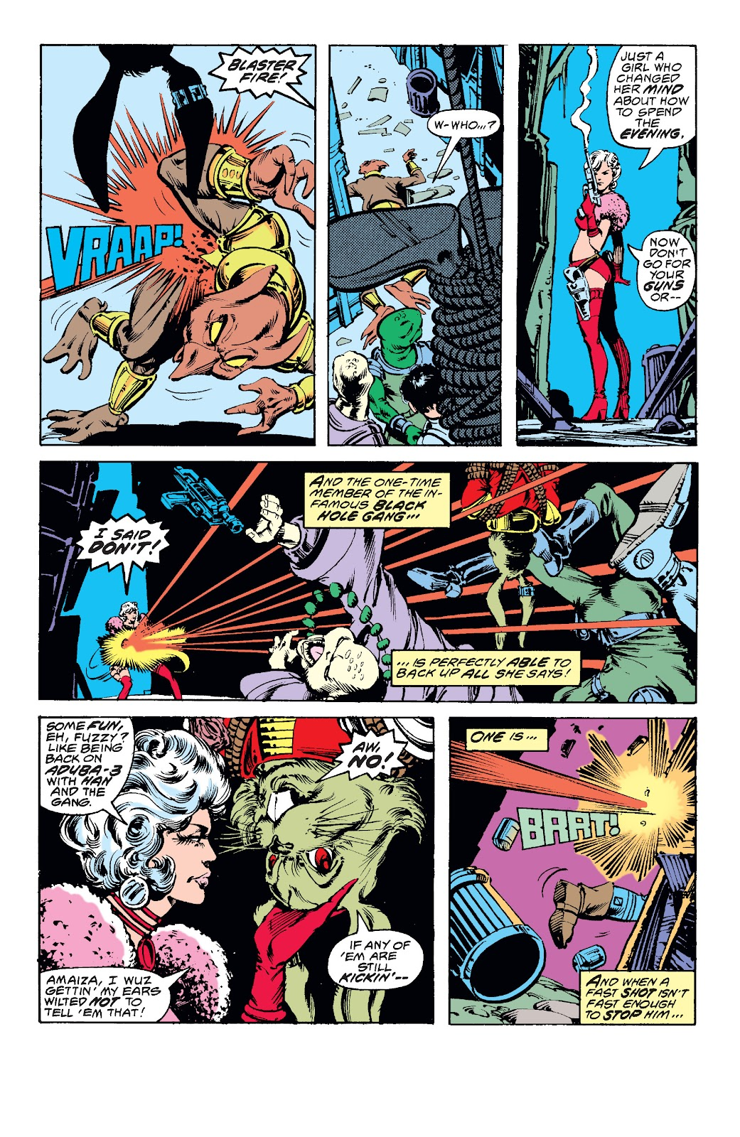 Read online Star Wars Legends: The Original Marvel Years - Epic Collection comic -  Issue # TPB 1 (Part 3) - 85