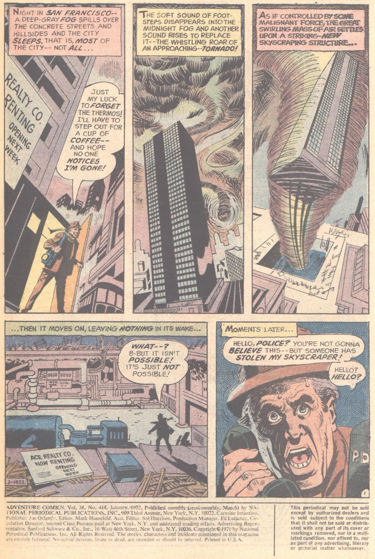Read online Adventure Comics (1938) comic -  Issue #414 - 3