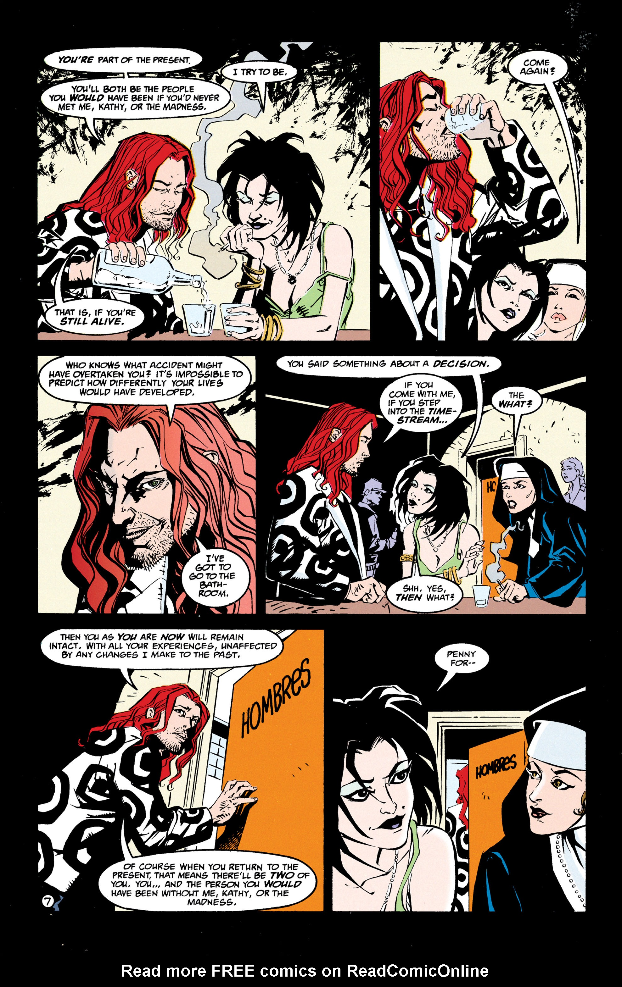 Read online Shade, the Changing Man comic -  Issue #68 - 8