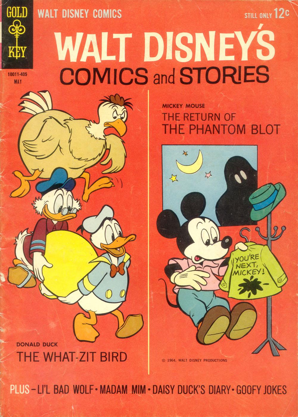 Walt Disneys Comics and Stories 284 Page 1