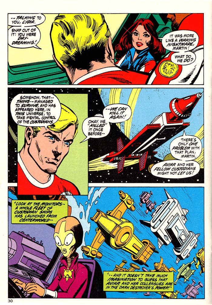 Read online Atari Force (1982) comic -  Issue #5 - 32
