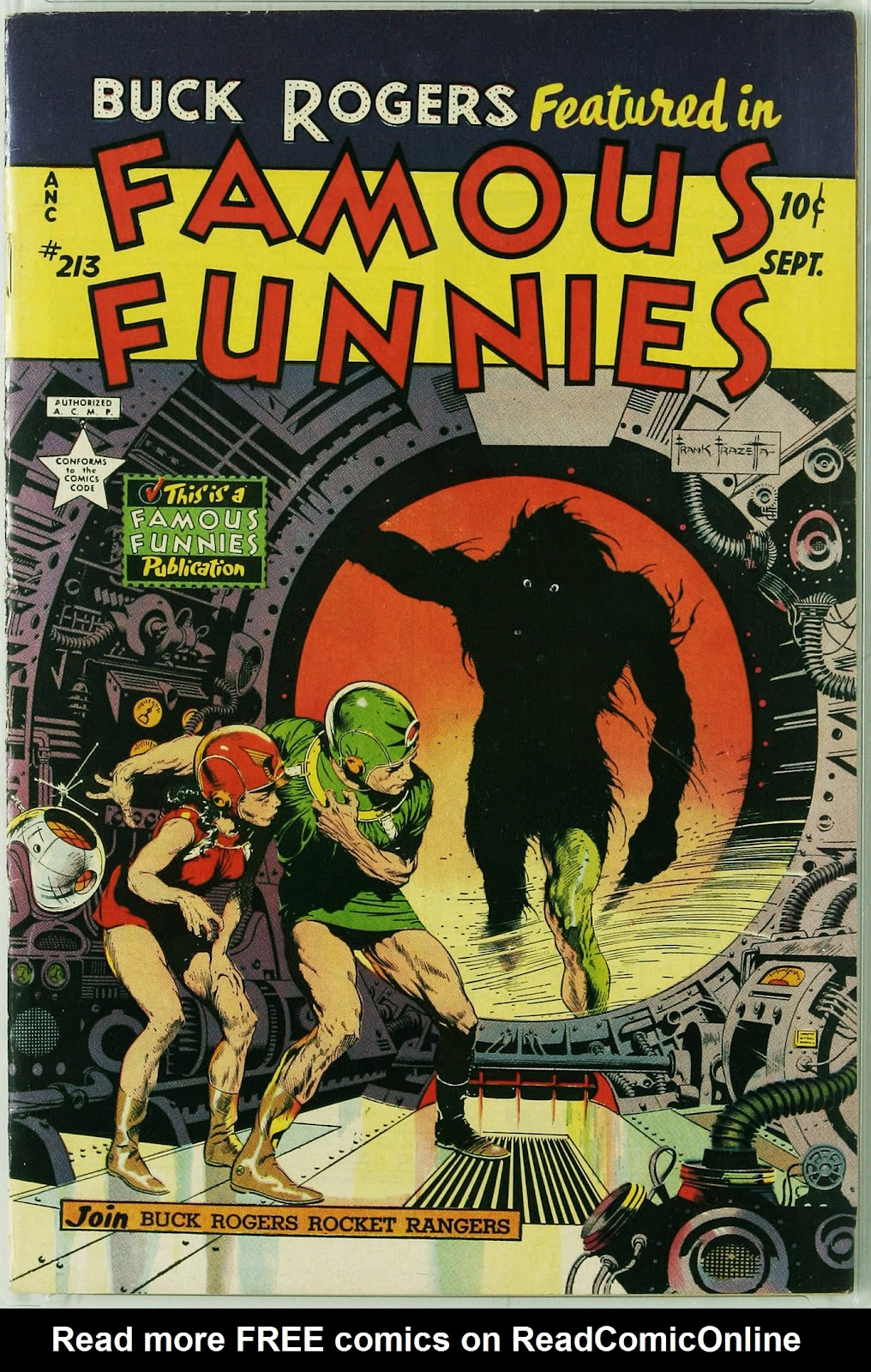 Read online Famous Funnies comic -  Issue #213 - 1