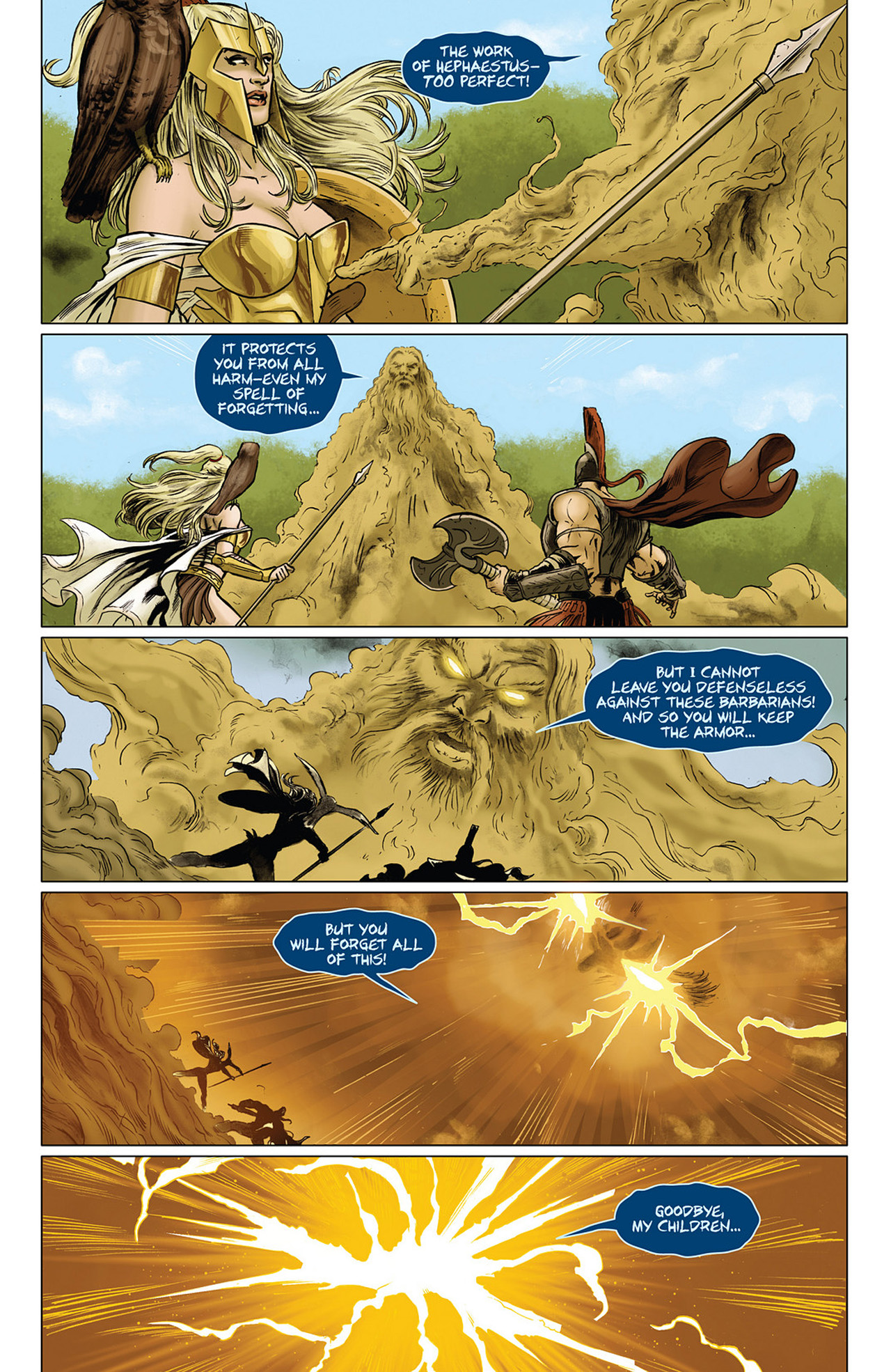 Read online Athena comic -  Issue #3 - 14